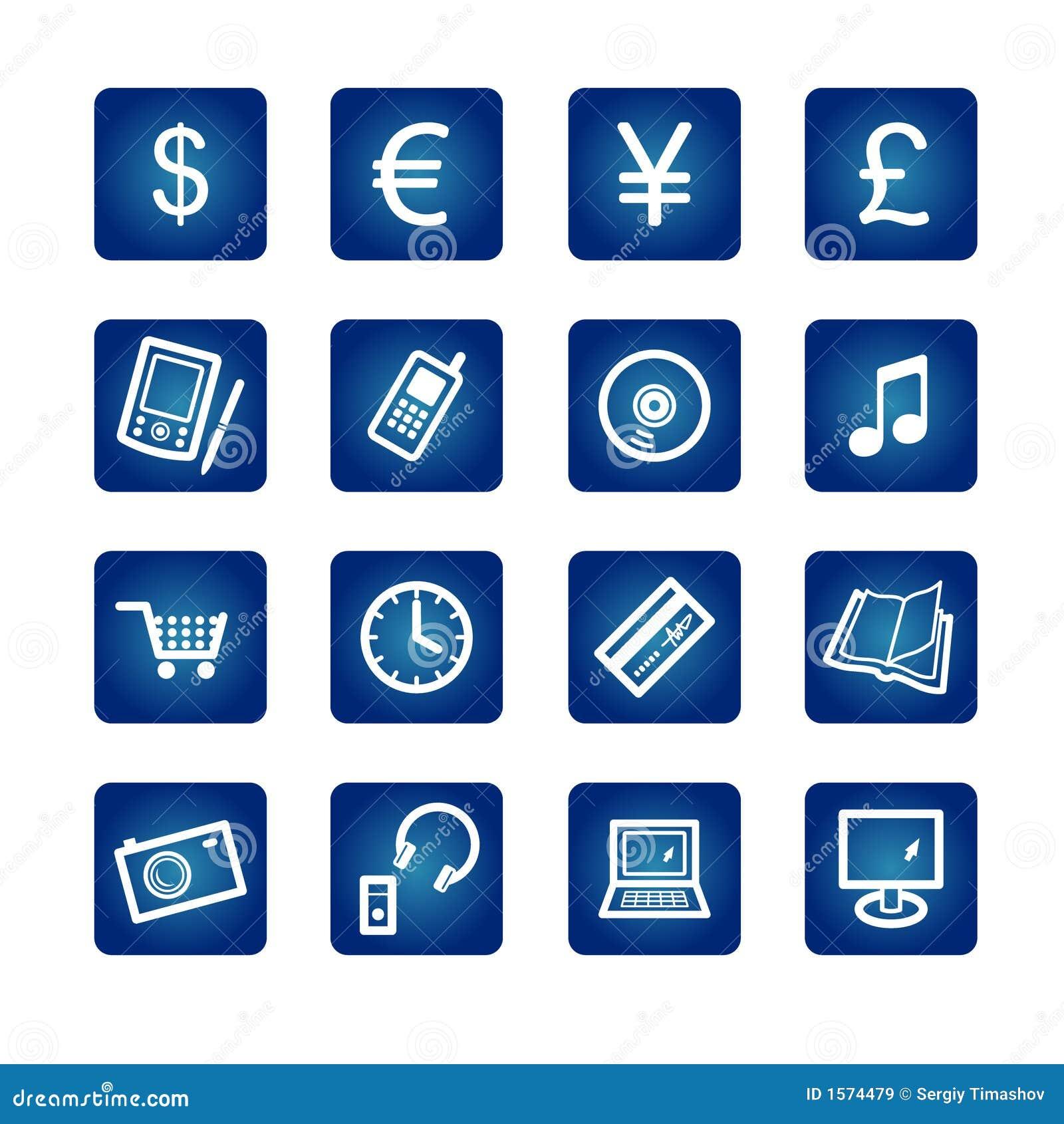 E-symboler shoppar