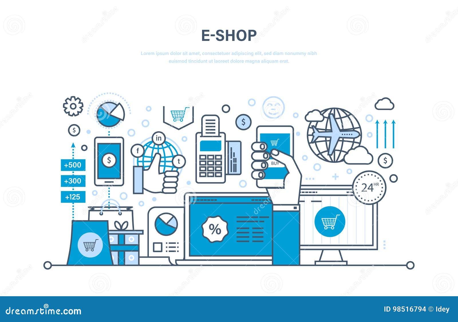 E-tienda Sistema De Productos, Pago Seguro, Soporte Técnico El ...
