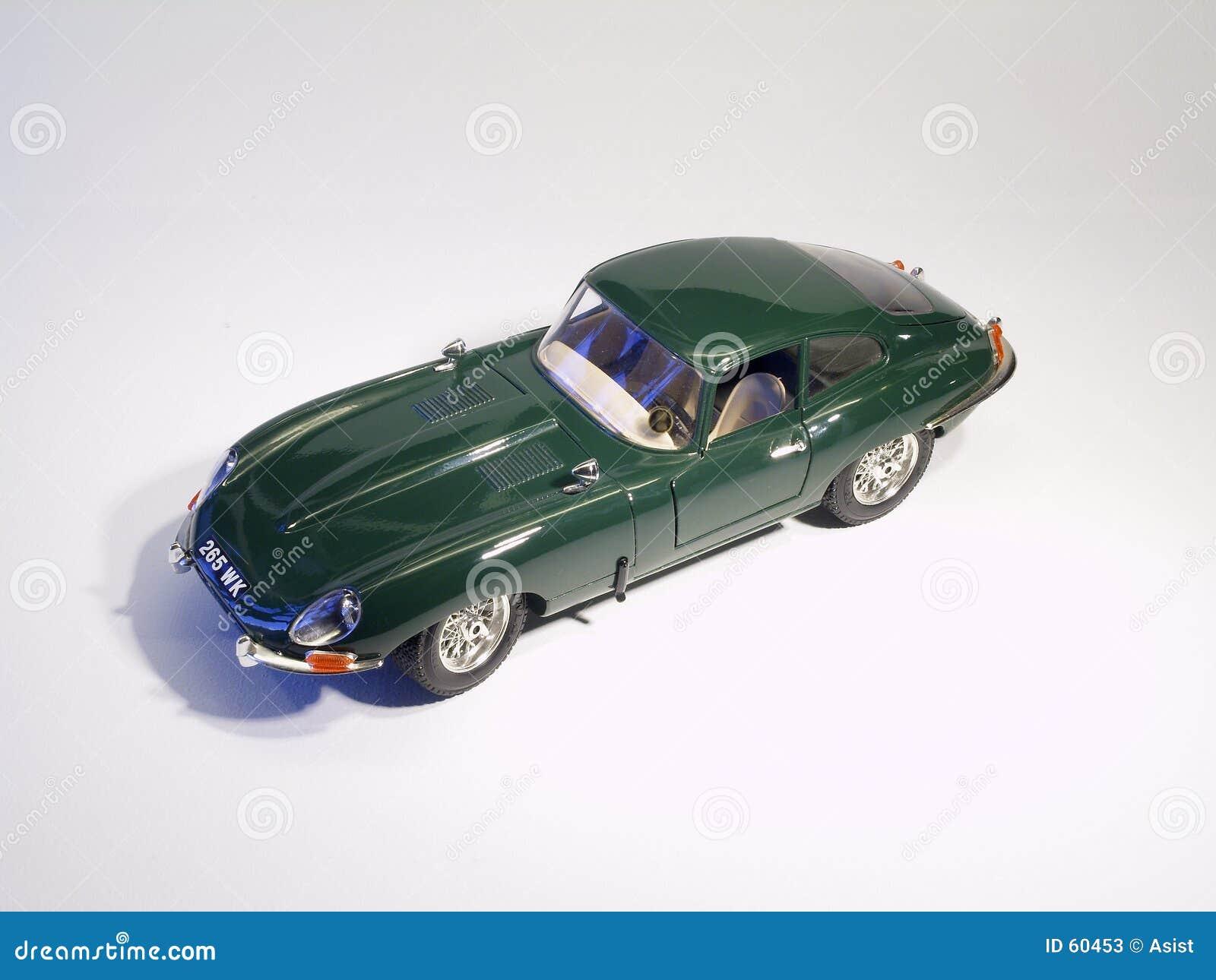 E-Tipo modelo del jaguar de Sportscar