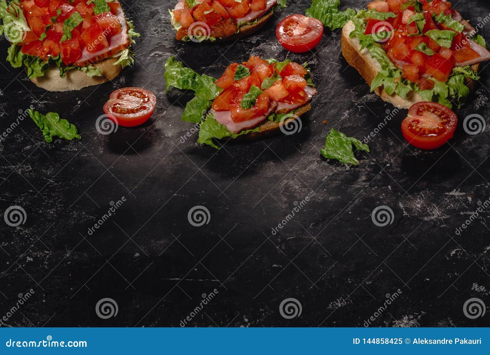 E Traditionele Italiaanse voorgerecht of snack, antipasto