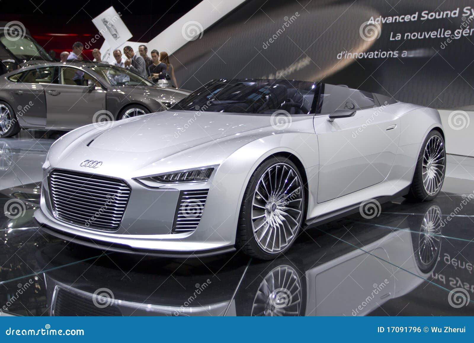 E-tron Spyder de Audi en la demostración de motor de París 2010