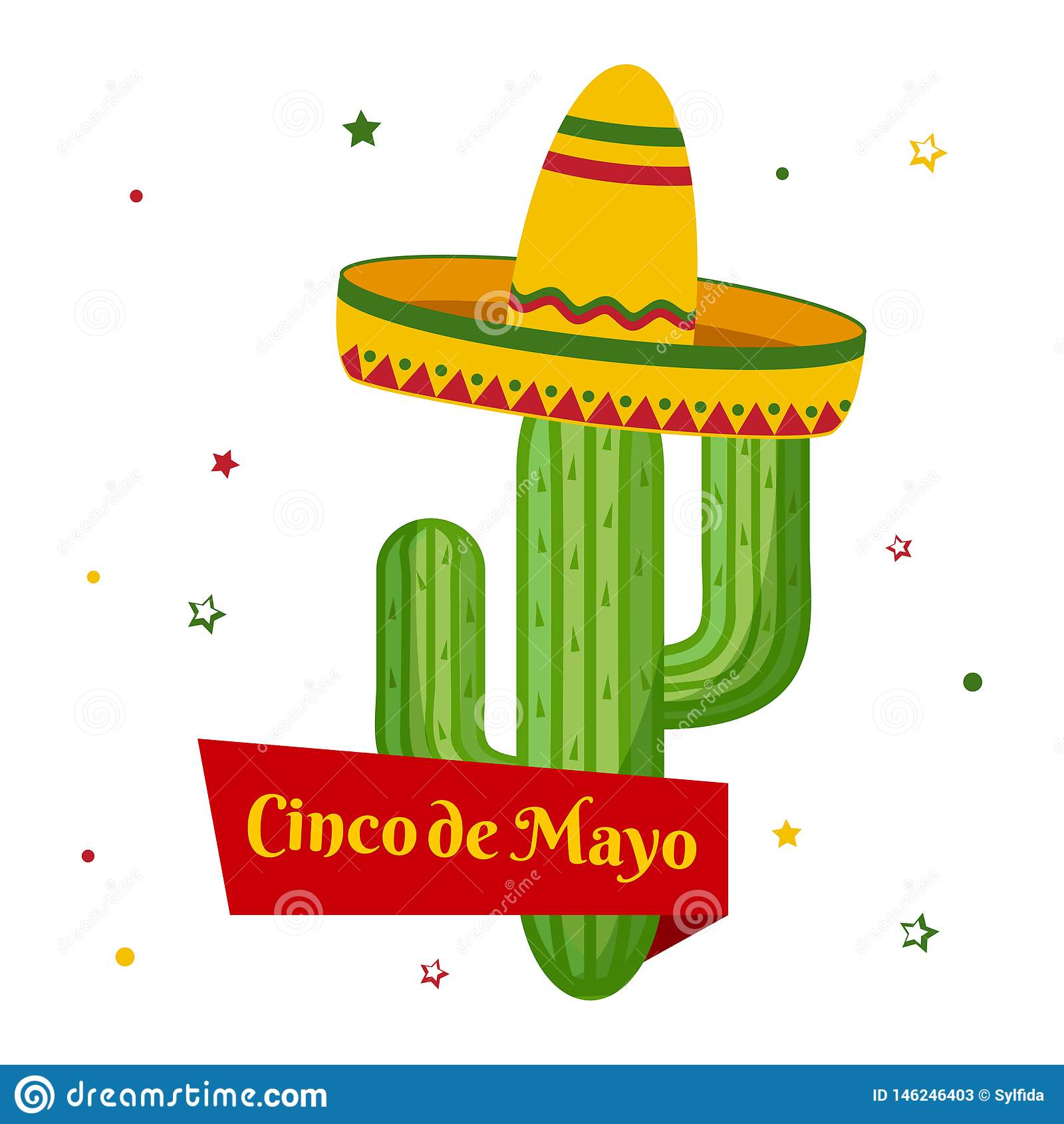 E Vakantie in Mexico Vector