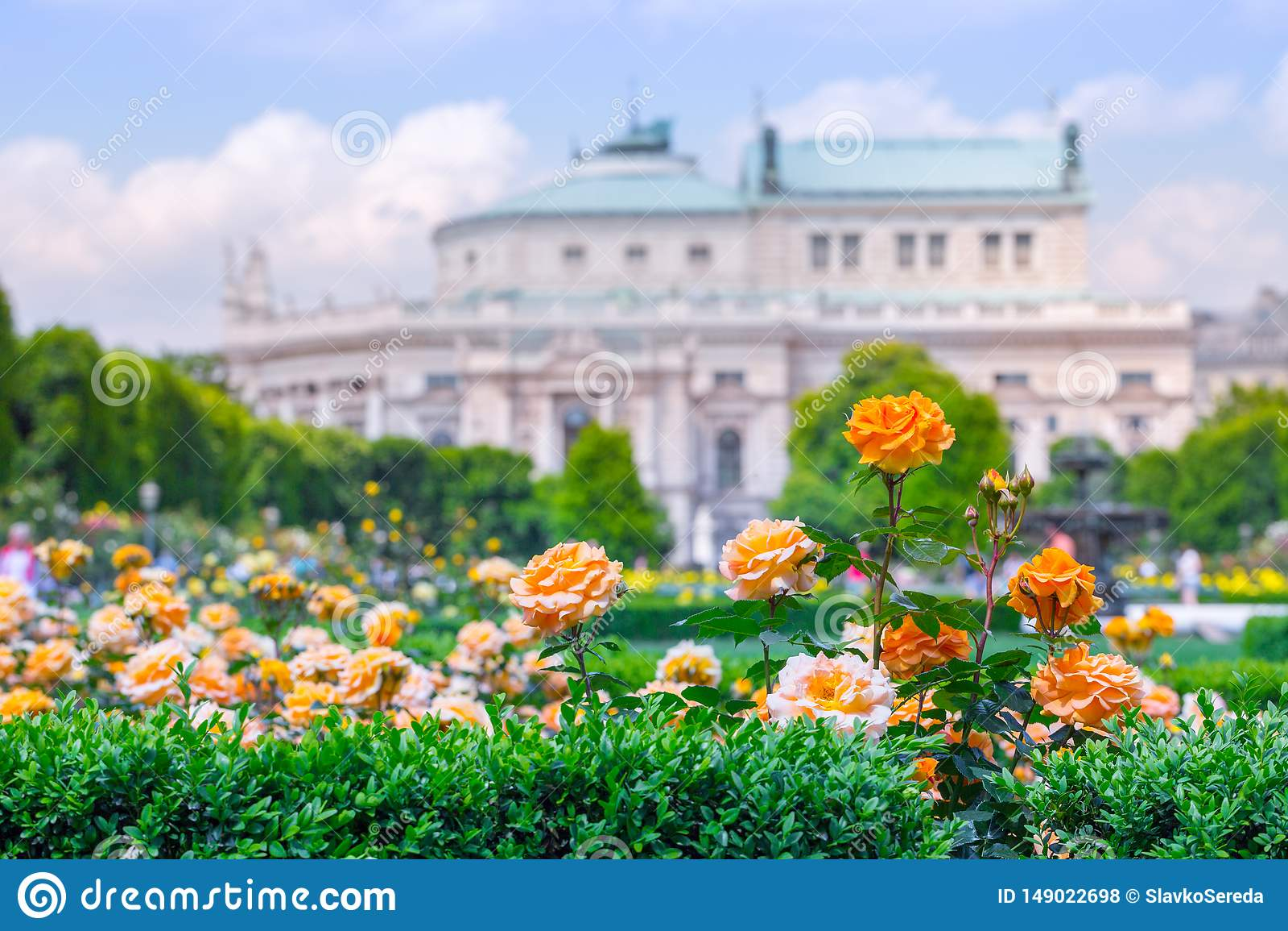 E Volksgarten& x28 people& x27 s park& x29  στη Βιέννη, Αυστρία