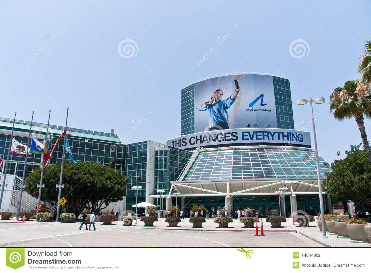 E3 2010, PlayStation Move Sponsorship of the Event
