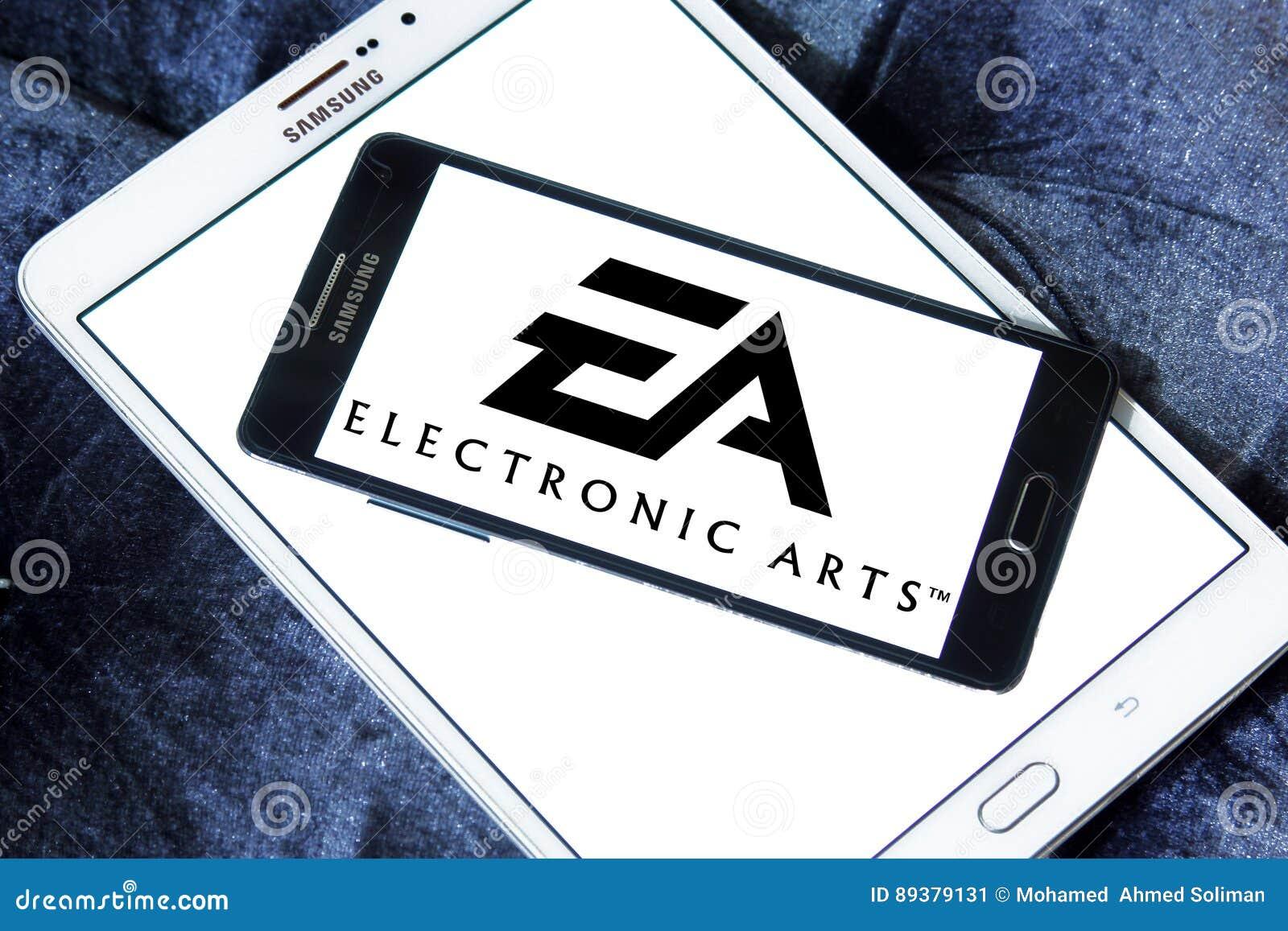 EA, electronic arts logo editorial photo  Image of kids