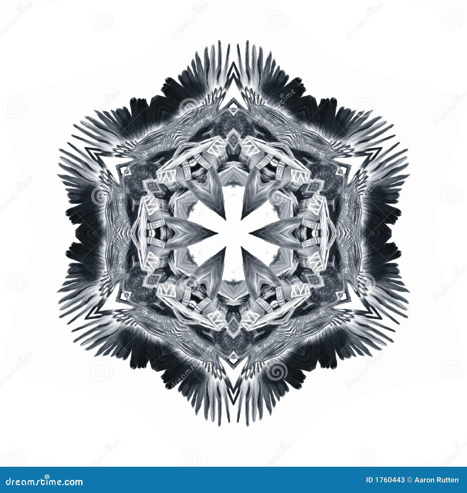 Eagle Crest Glyph Symbol Stock Illustration Illustration