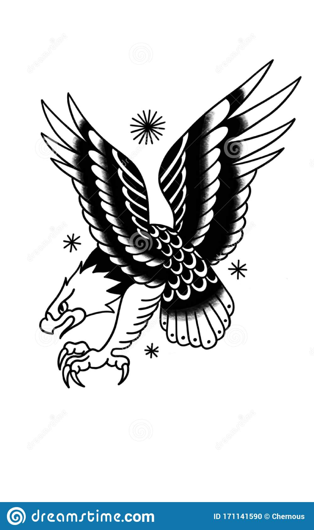 Eagle Traditional Tattoo Stock Illustrations 3 034 Eagle Traditional Tattoo Stock Illustrations Vectors Clipart Dreamstime