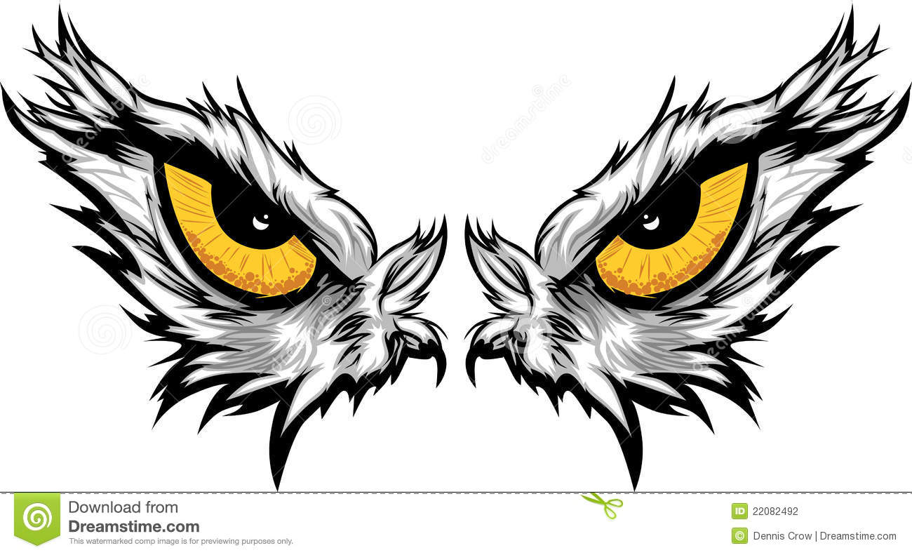 eagle eyes illustration stock vector illustration of eagle 22082492 falcon clipart black & white falcon clipart black and white