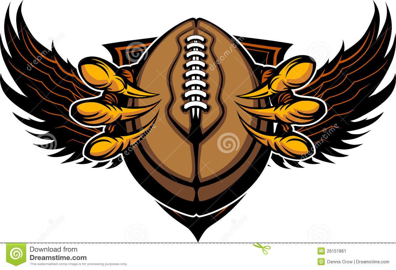Eagle Football Talons And Claws Stock Image - Image: 26151861
