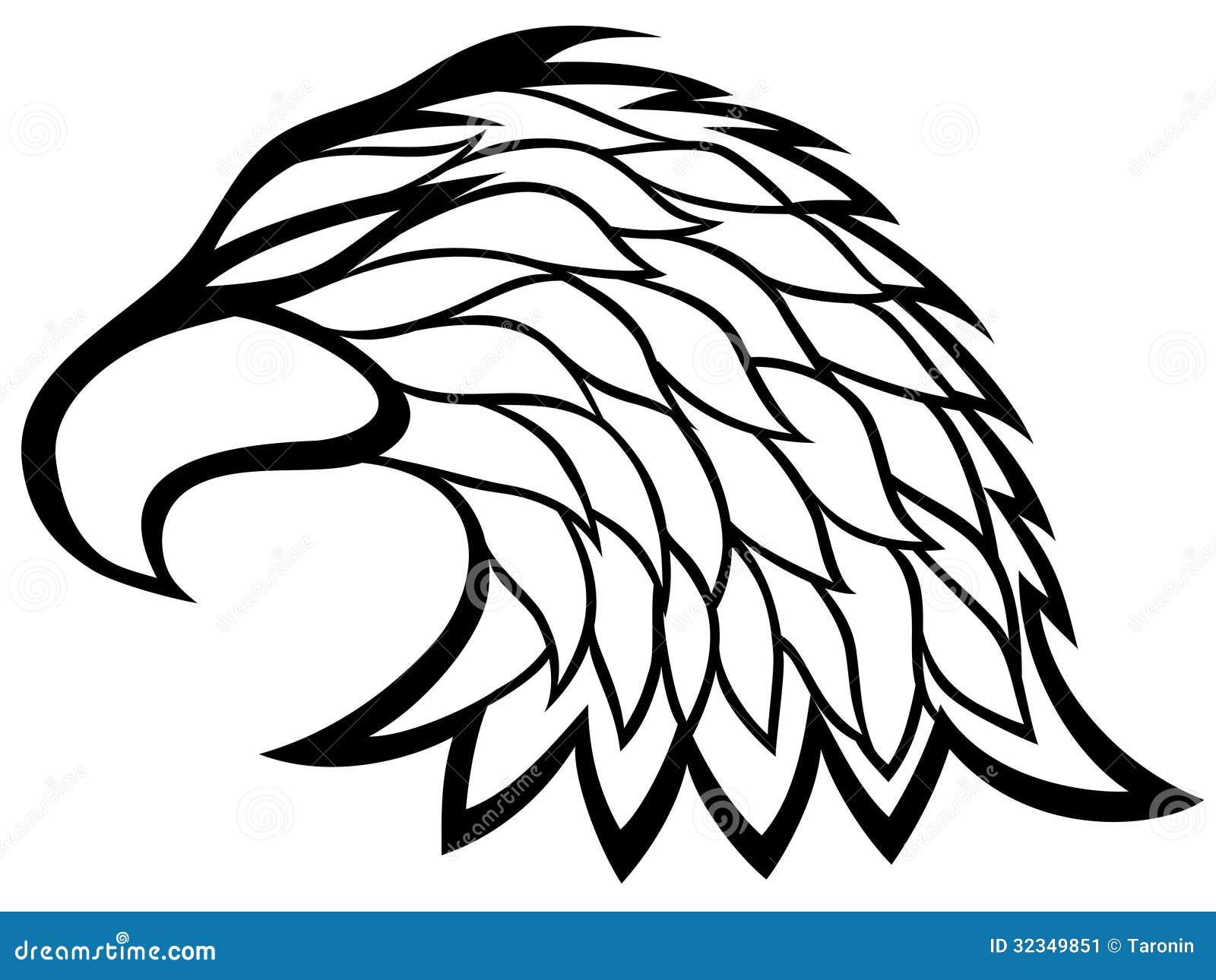 Eagle head sign  Stock Image  Eagle Head Symbol