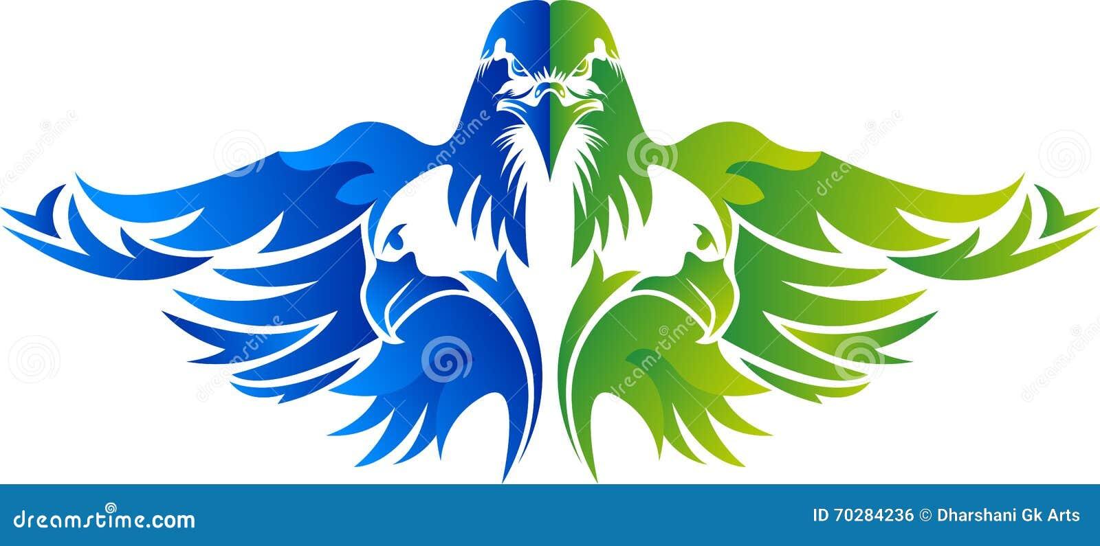 eagle logo design stock vector illustration of clip 70284236