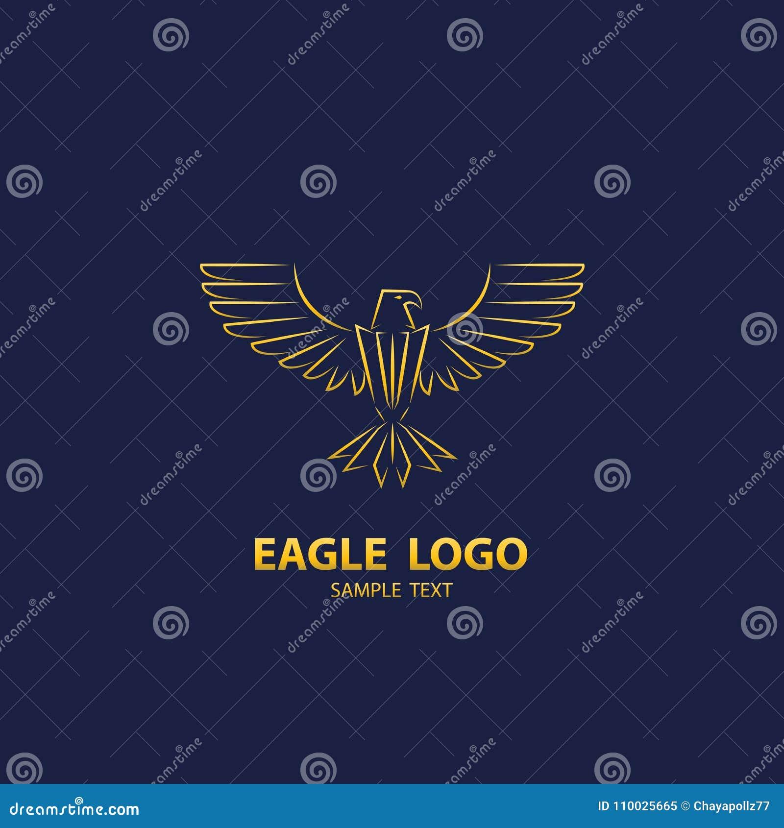 Eagle logo, designlyx