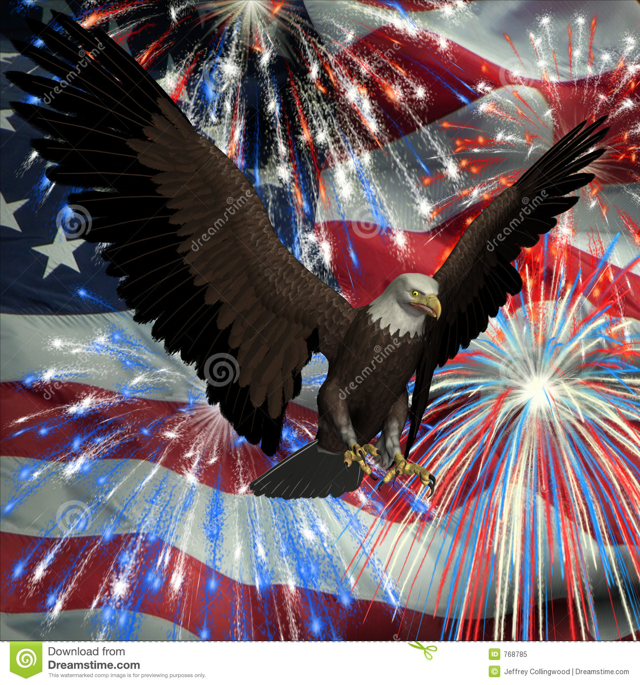 firework coloring pages eagle - photo#35