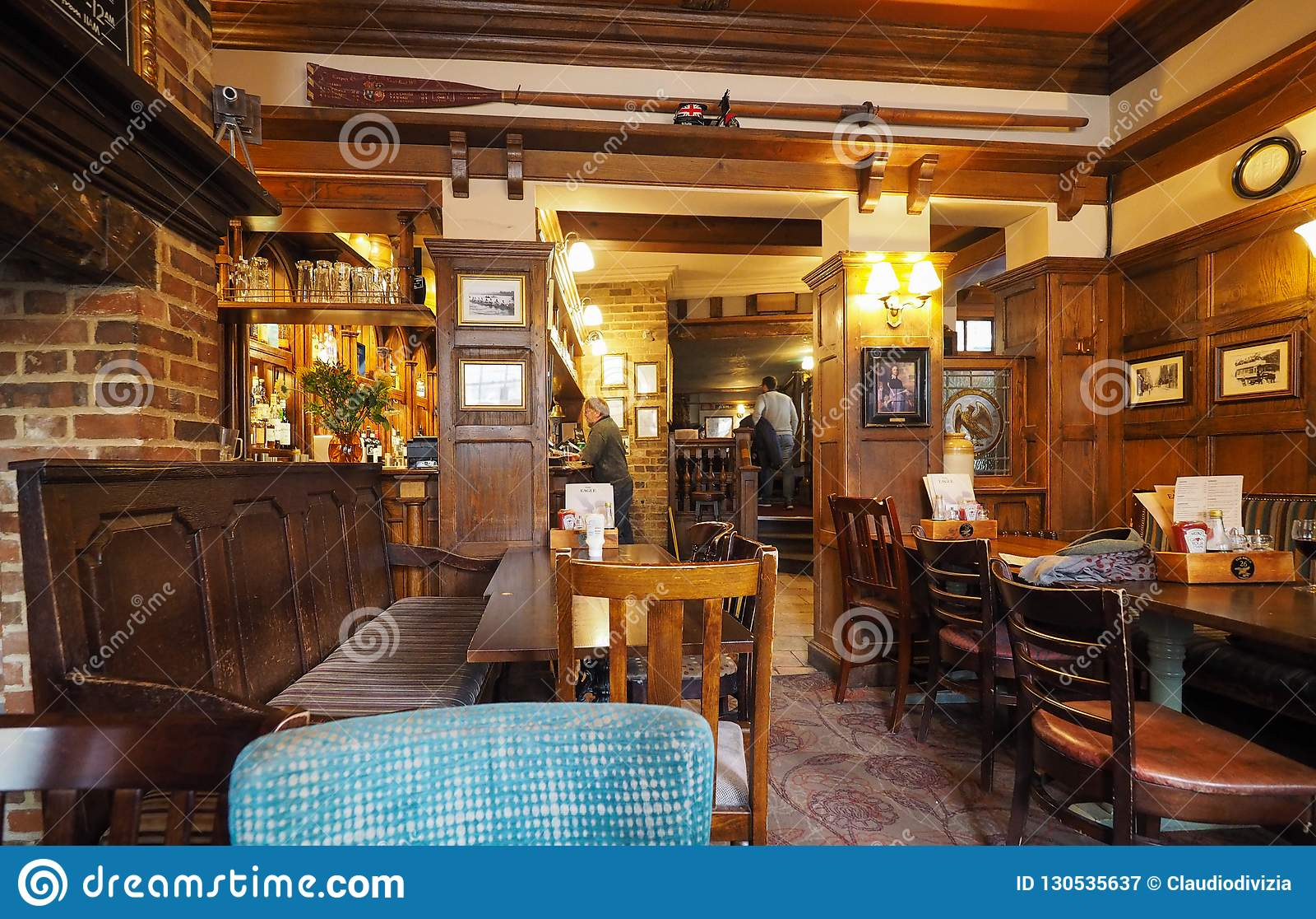 Eagle Pub à Cambridge
