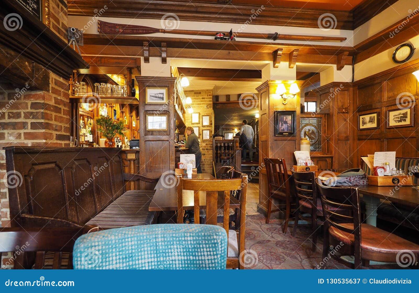 Eagle Pub in Cambridge