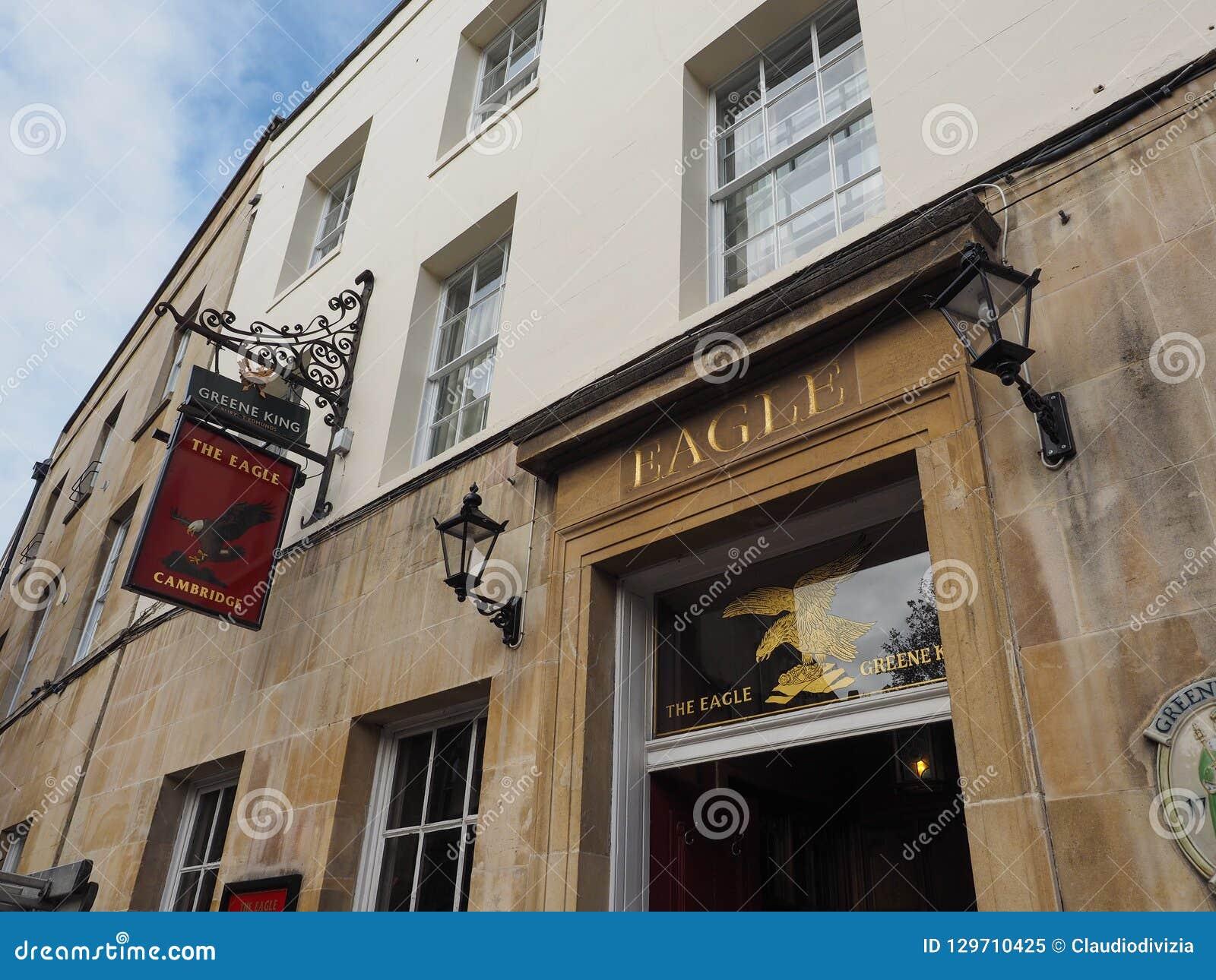 Eagle Pub em Cambridge