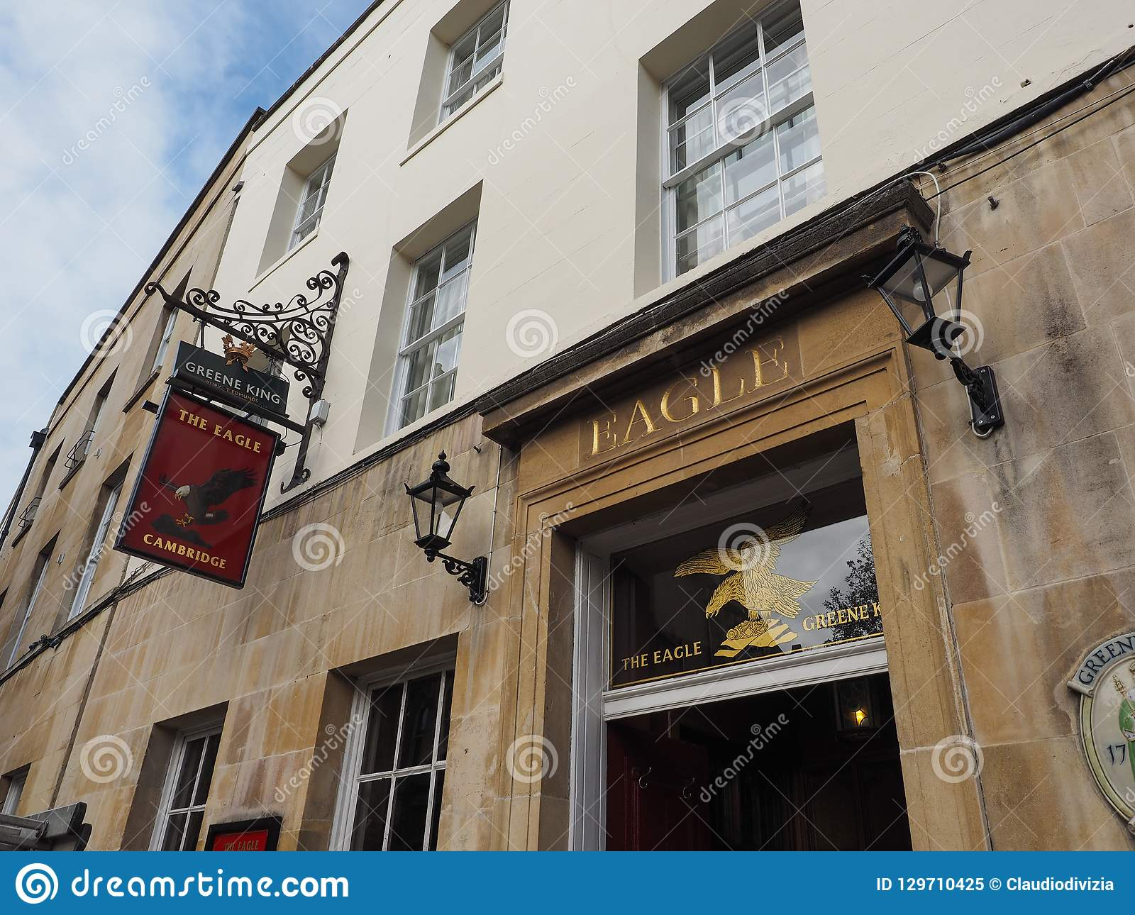 Eagle Pub en Cambridge