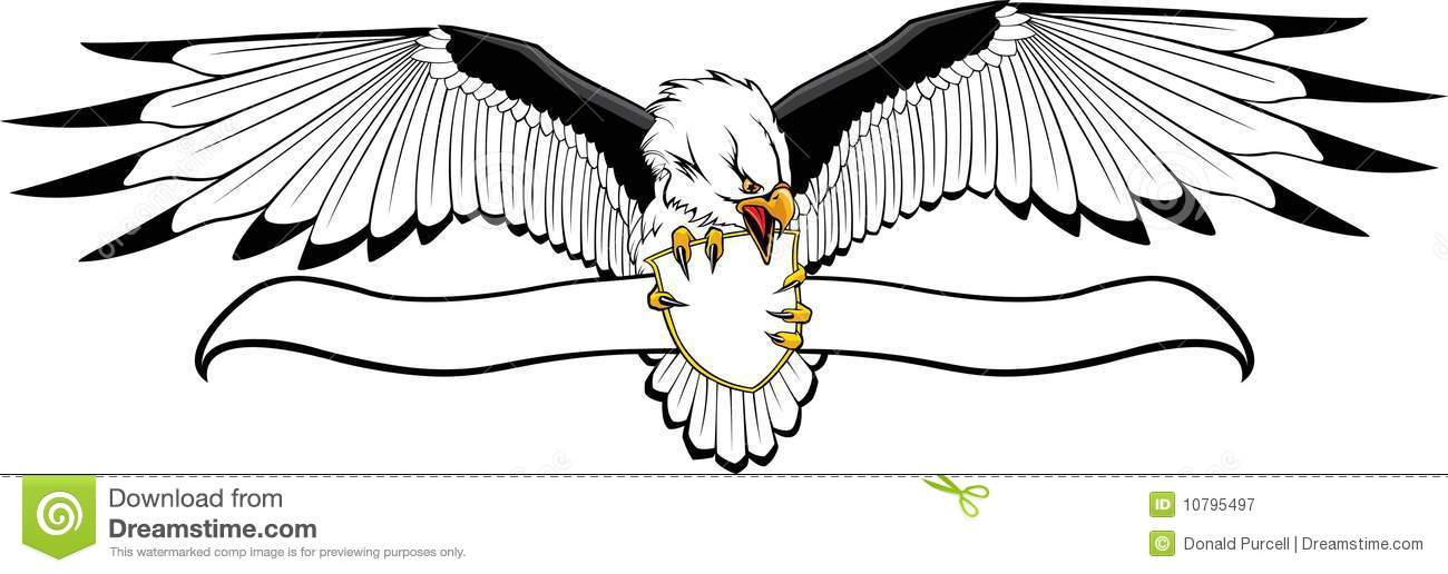 Eagle With Shield And Banner