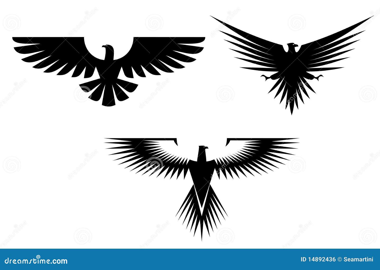 0ec1c33ea Eagle tattoos stock vector. Illustration of graphic, label - 14892436