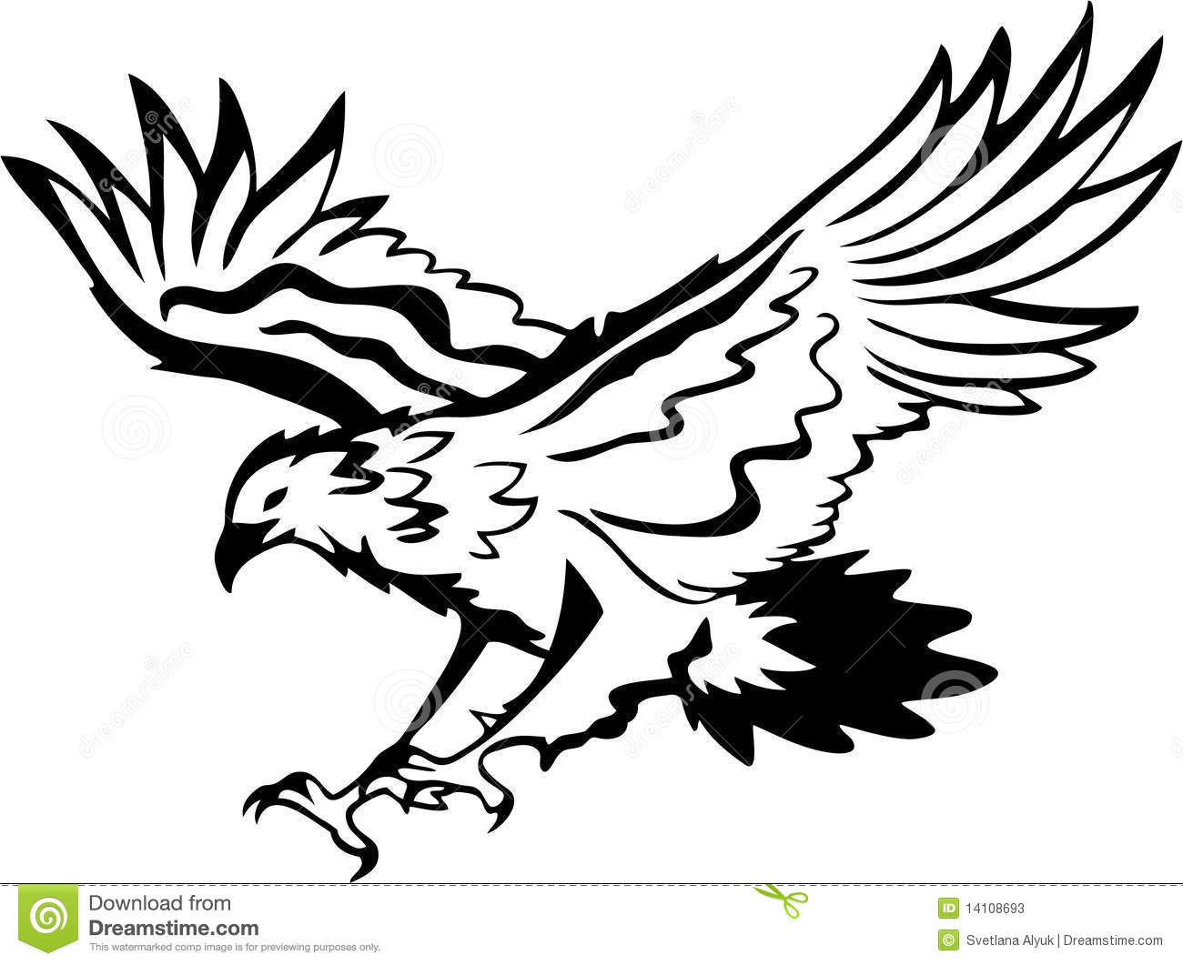 Eagle Vector Stock Photos Image 14108693