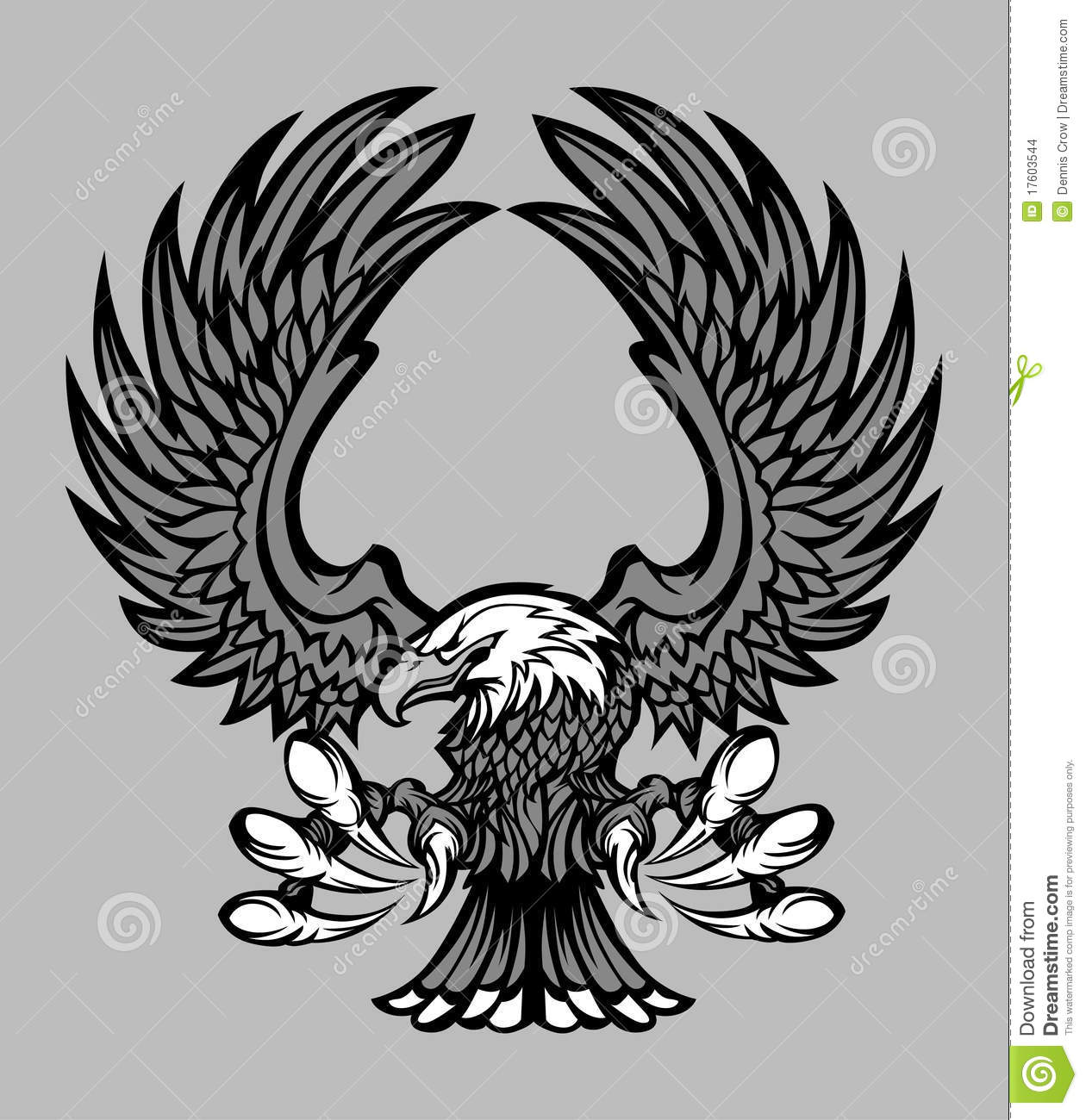 Mascot Vector Eagle wings  Eagle Wings Logo Png