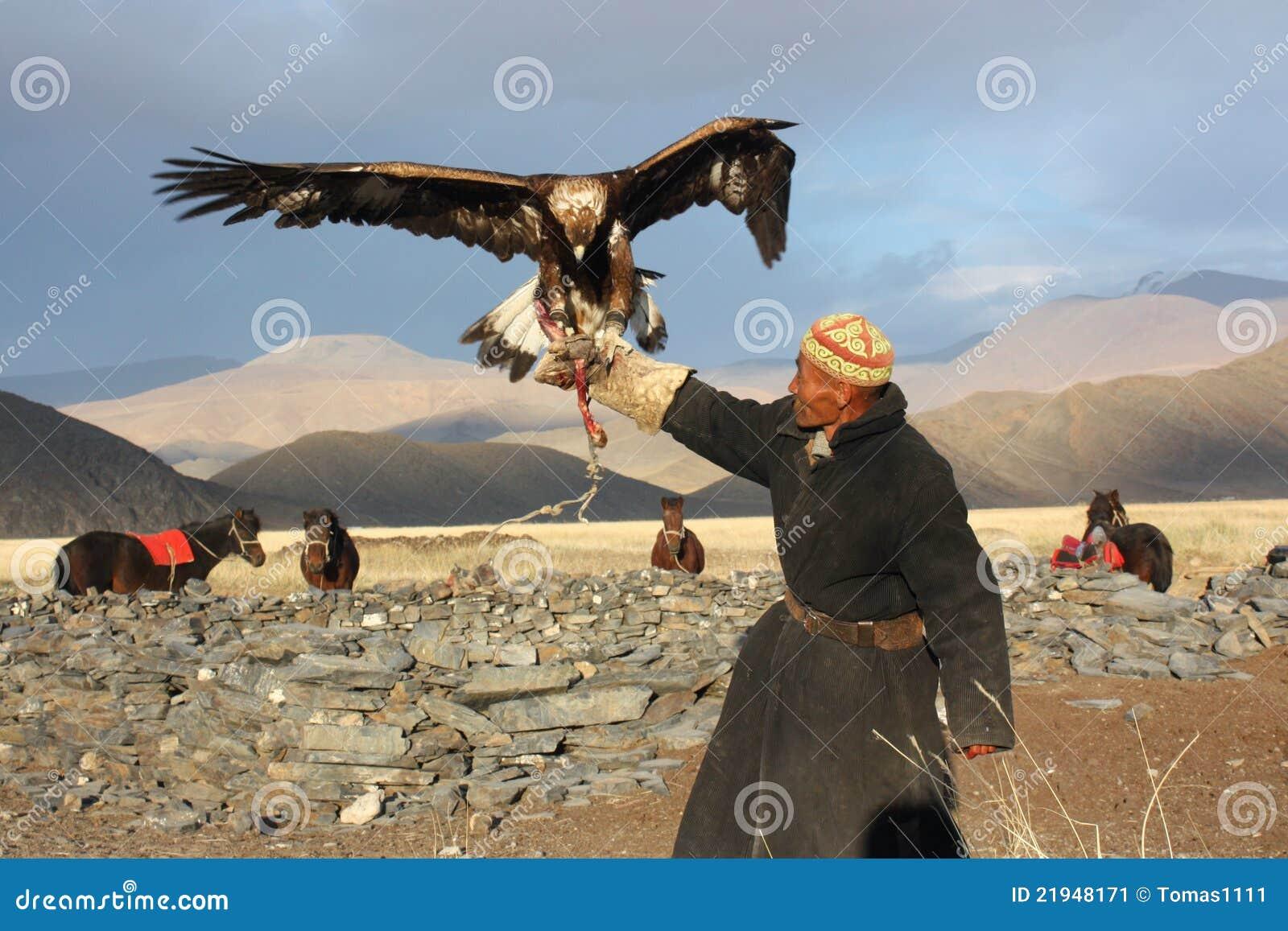 Eaglehunter in mongolia