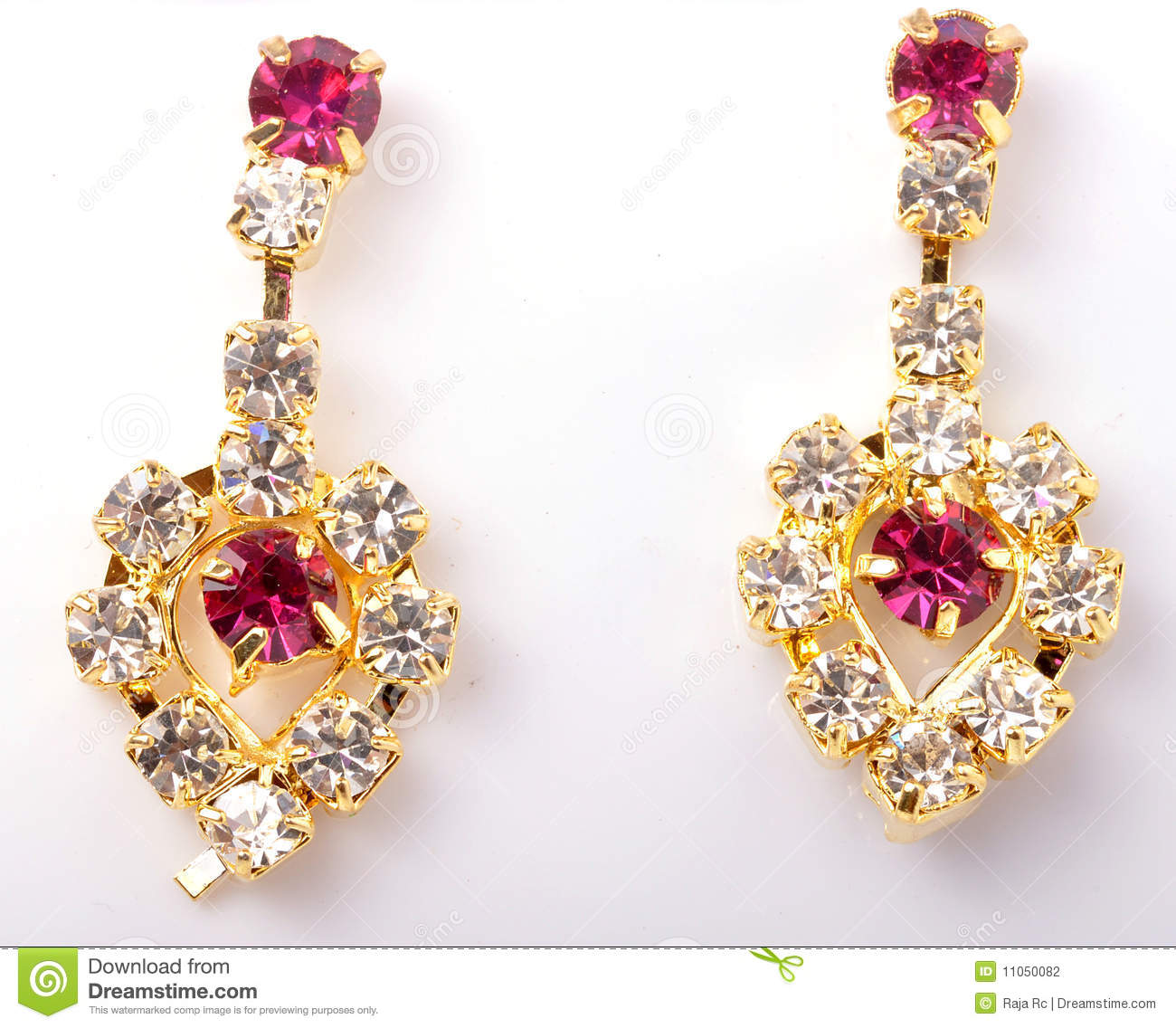 Ring In Kaars.Ear Ring Stock Photo Image Of Girl Fashionable Accent 11050082