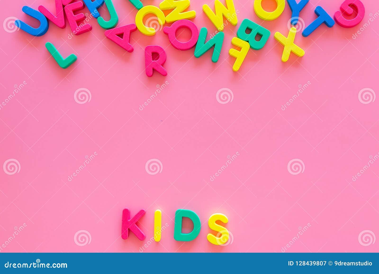 Early Childhood Development Concept  Word Kids Written By