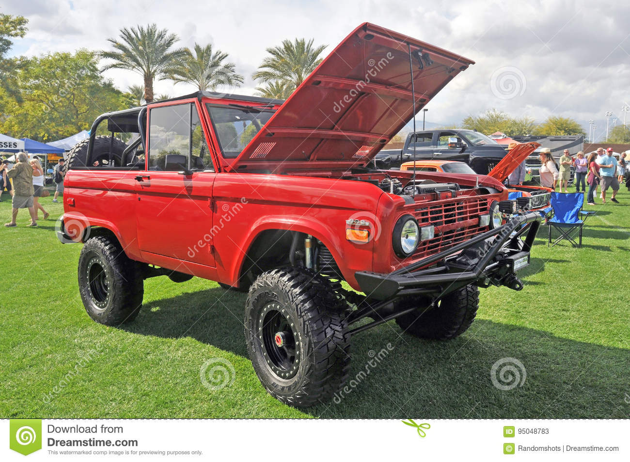 Early Classic Bronco editorial stock photo  Image of custom