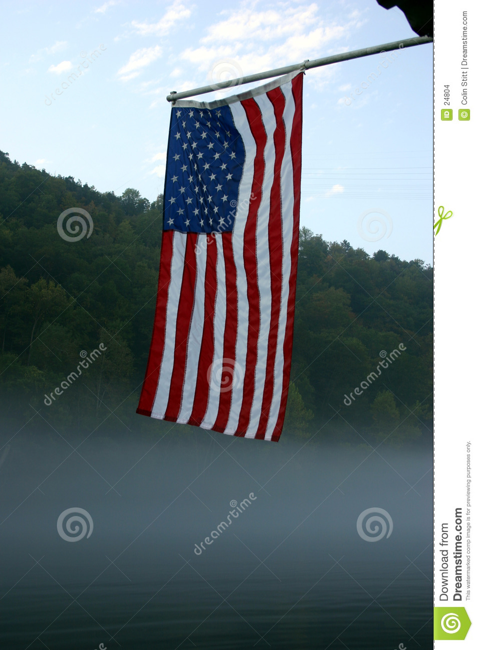 Early morning old glory