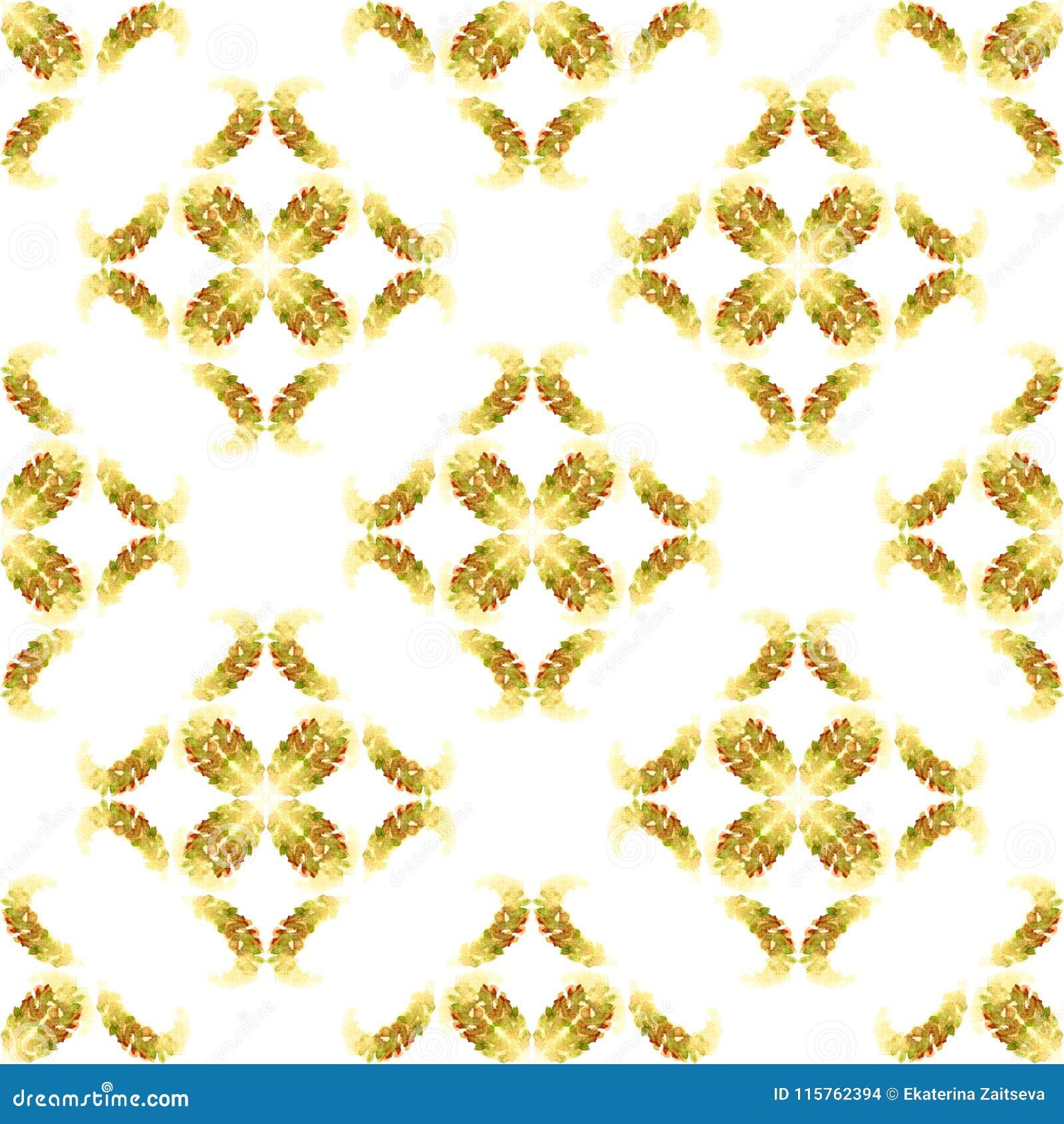 ears of corn pattern seamless beige golden brown autumn vintage