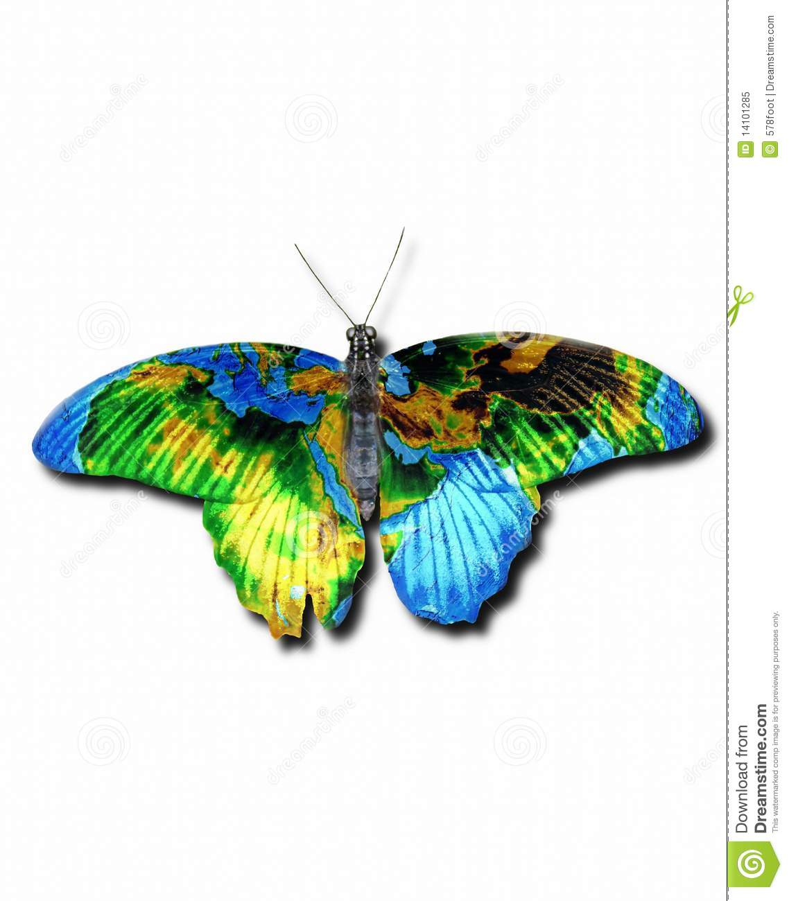 Nature Images 2mb: Earth Butterfly Stock Image. Image Of Cloud, Nature, White