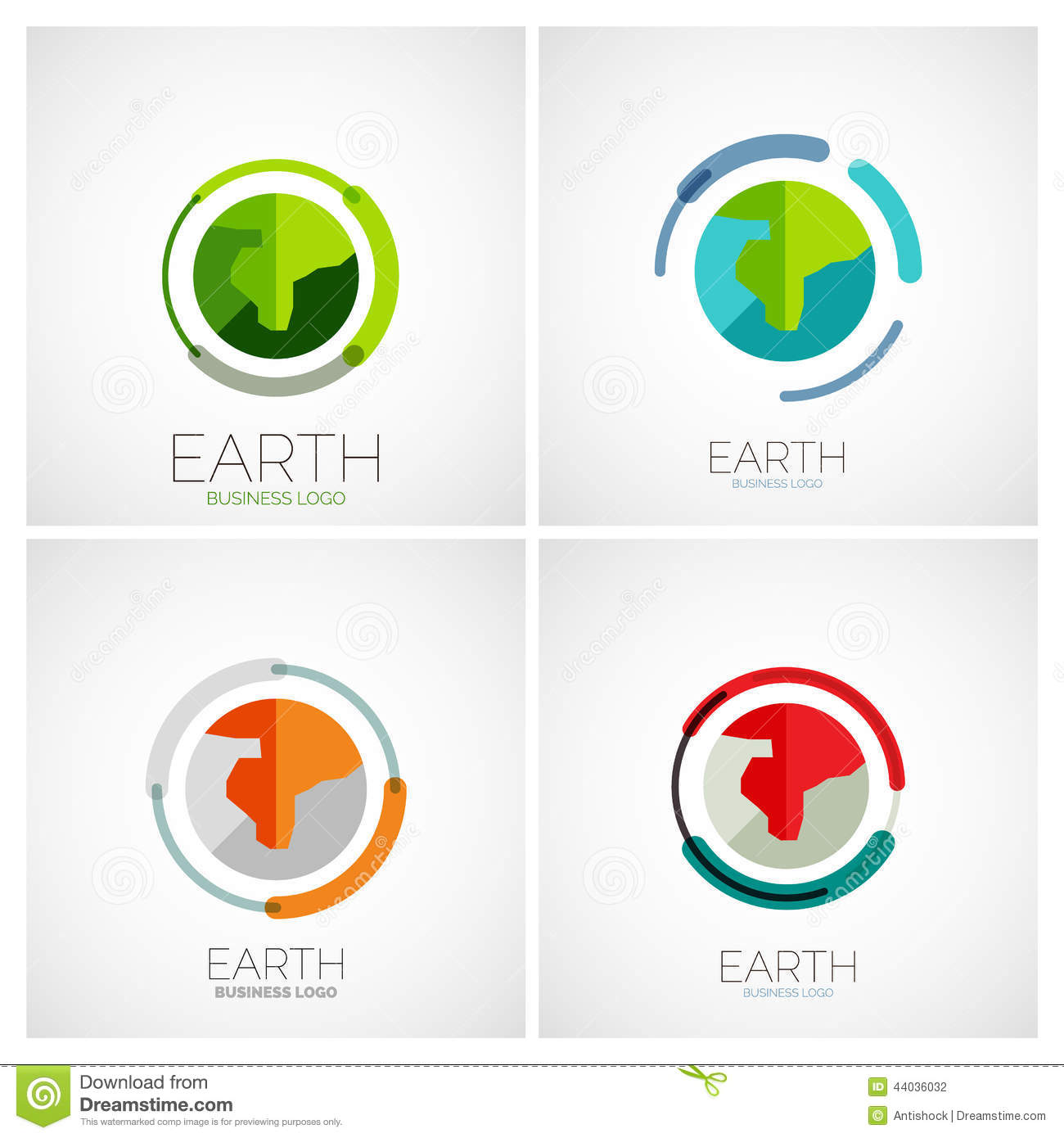 Earth company logo design stock vector image of creative for Design company
