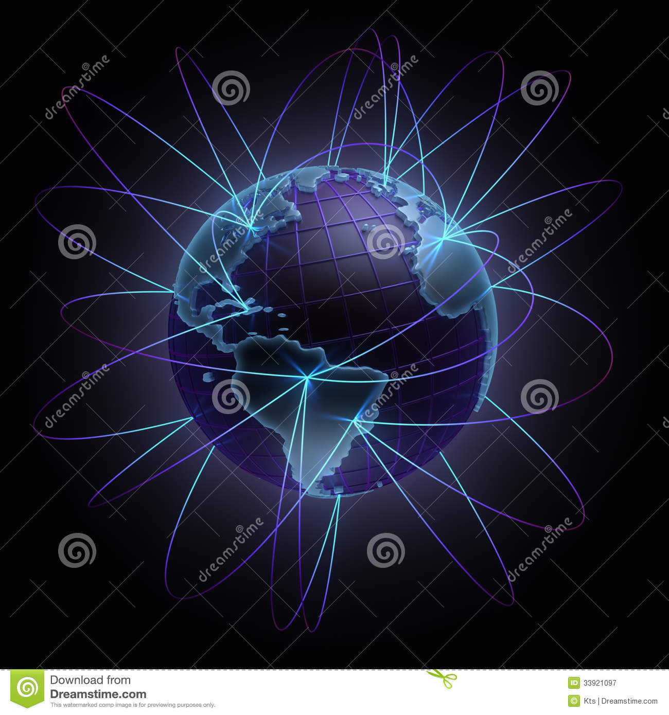 Earth connections royalty free stock photography image for Internet plante
