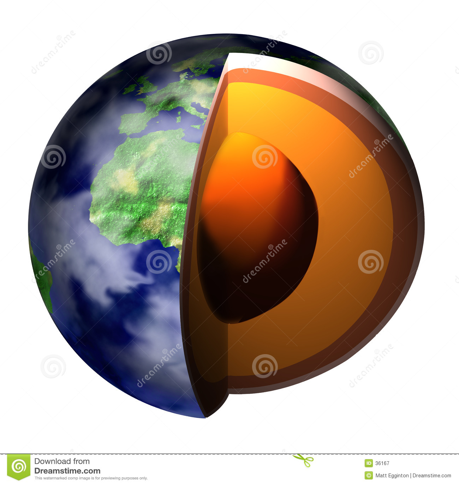 Earth Cross-Section