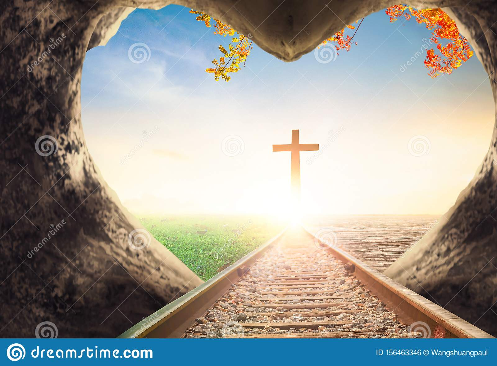 easter concept jesus christ empty grave on the cross background stock photo image of christ death 156463346 https www dreamstime com earth day concept hands holding globe tree over blurred nature background easter jesus christ empty grave cross image156463346