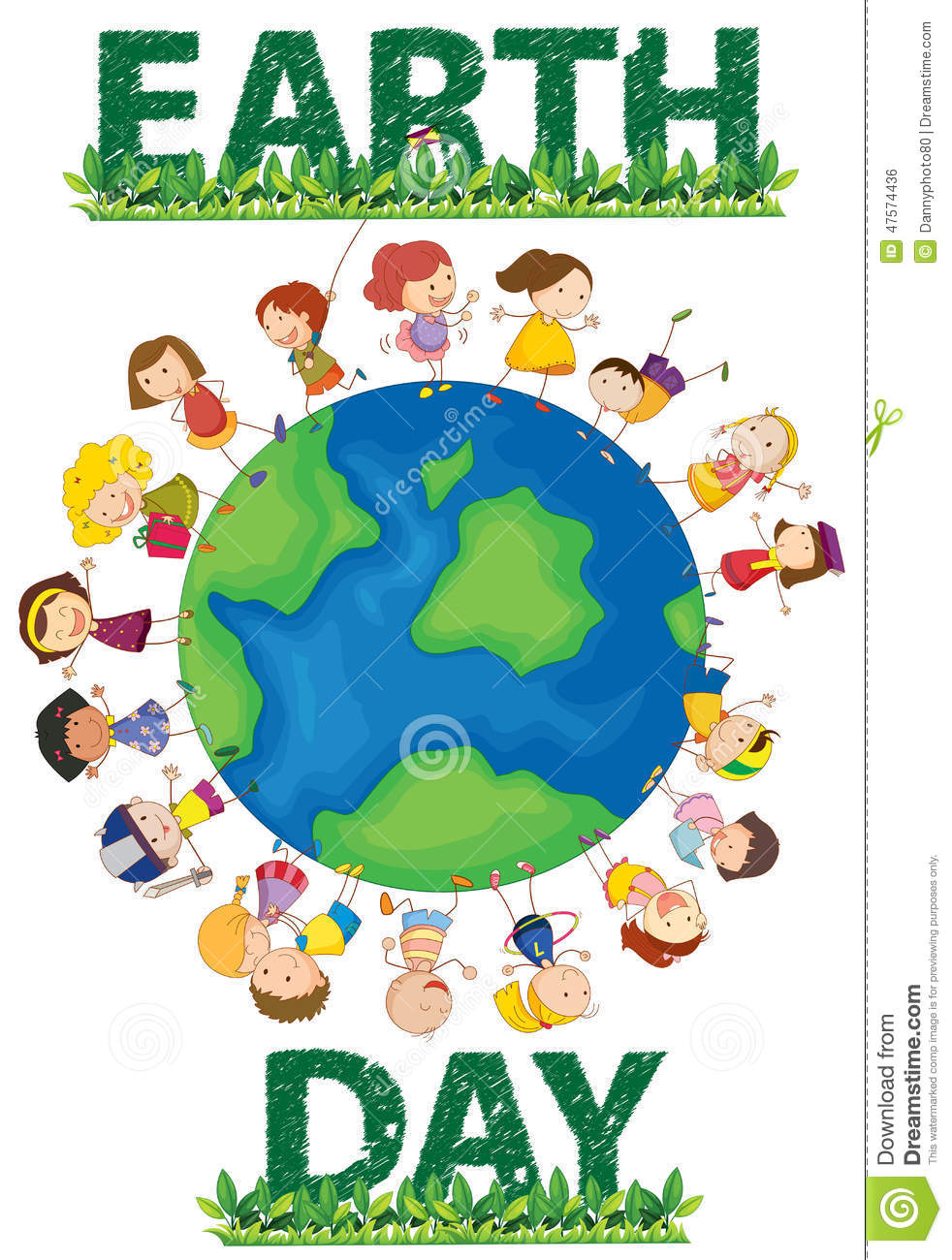 Earth day stock vector. Image of graphic, fresh, planet ...