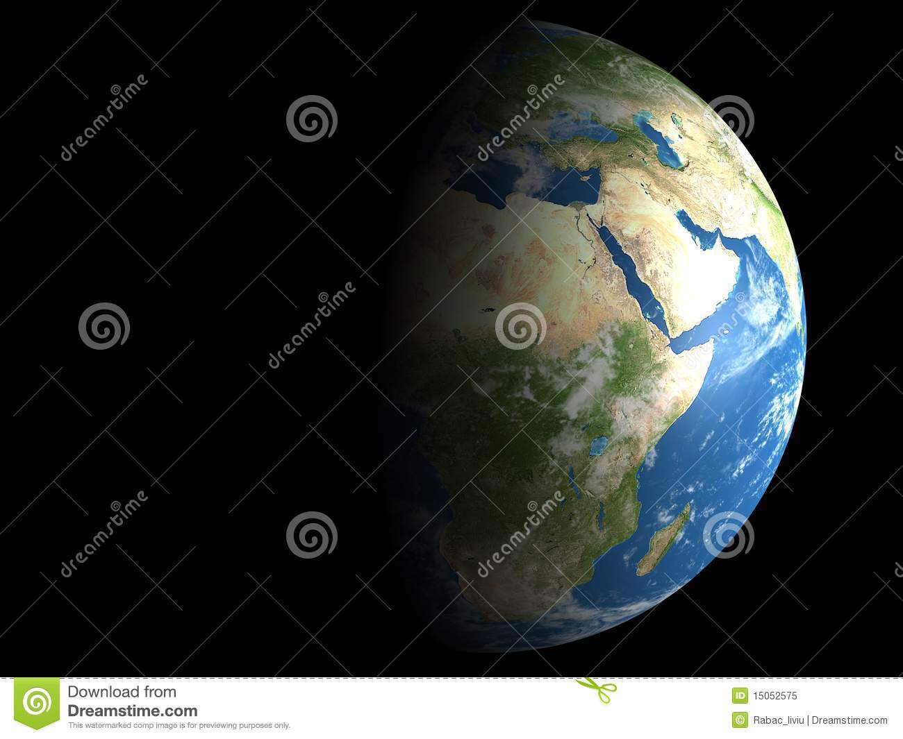 Earth day and night stock illustration illustration of image earth day and night gumiabroncs Images