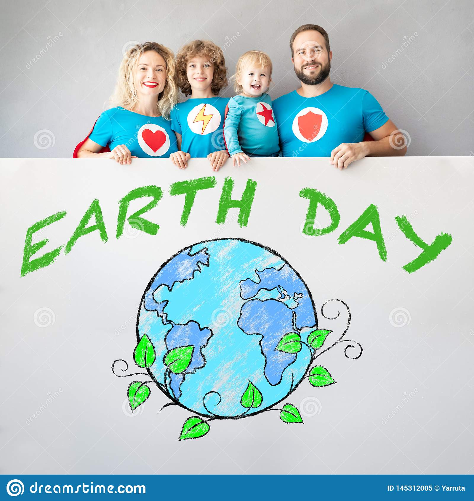 Earth Day Spring Holiday Concept