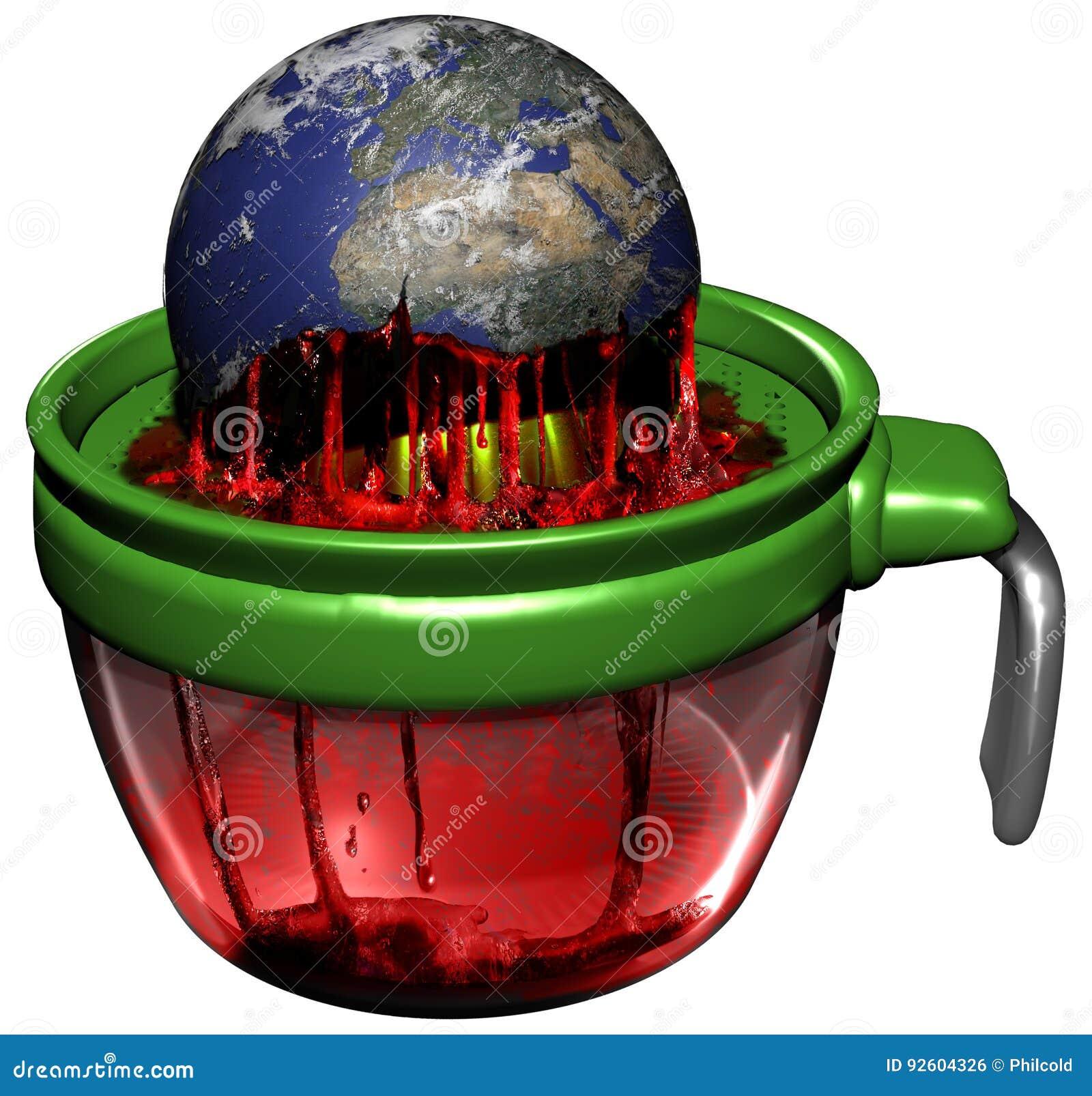 Earth exploitation