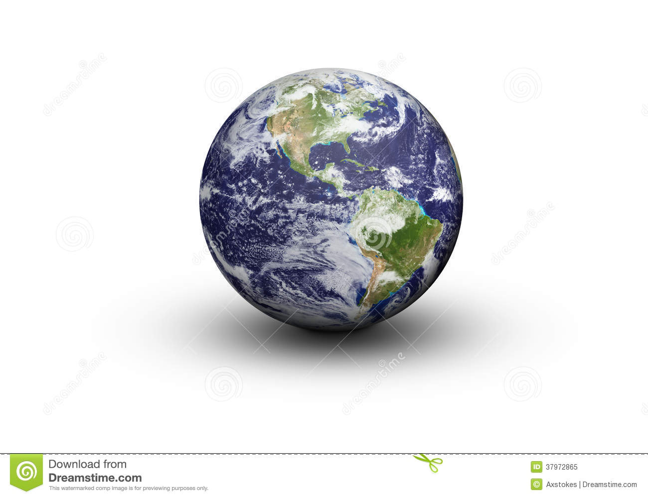 earth globe north and south america stock image image of brazil