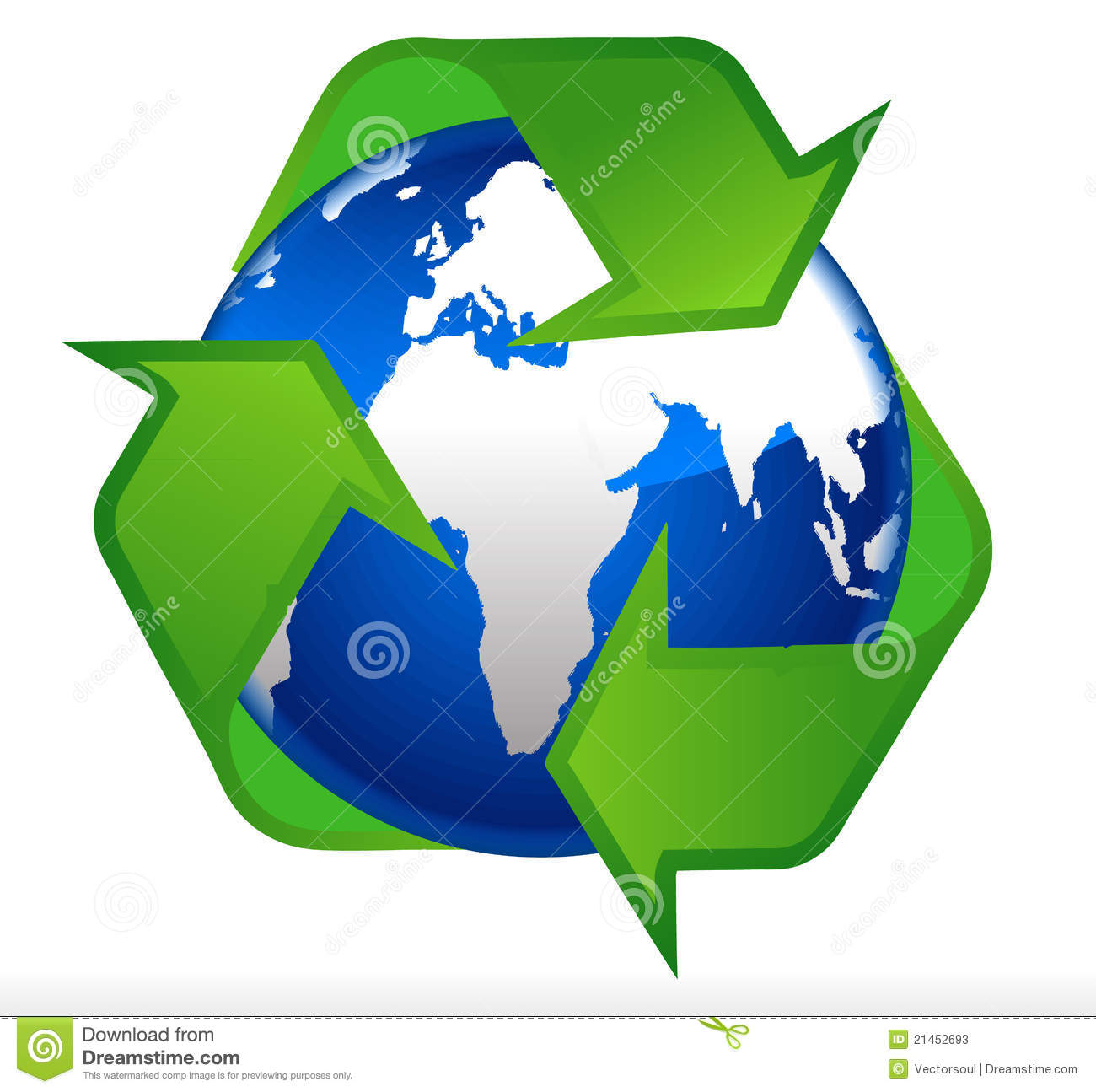Earth globe recycling symbol stock vector illustration of safe earth globe recycling symbol biocorpaavc Gallery