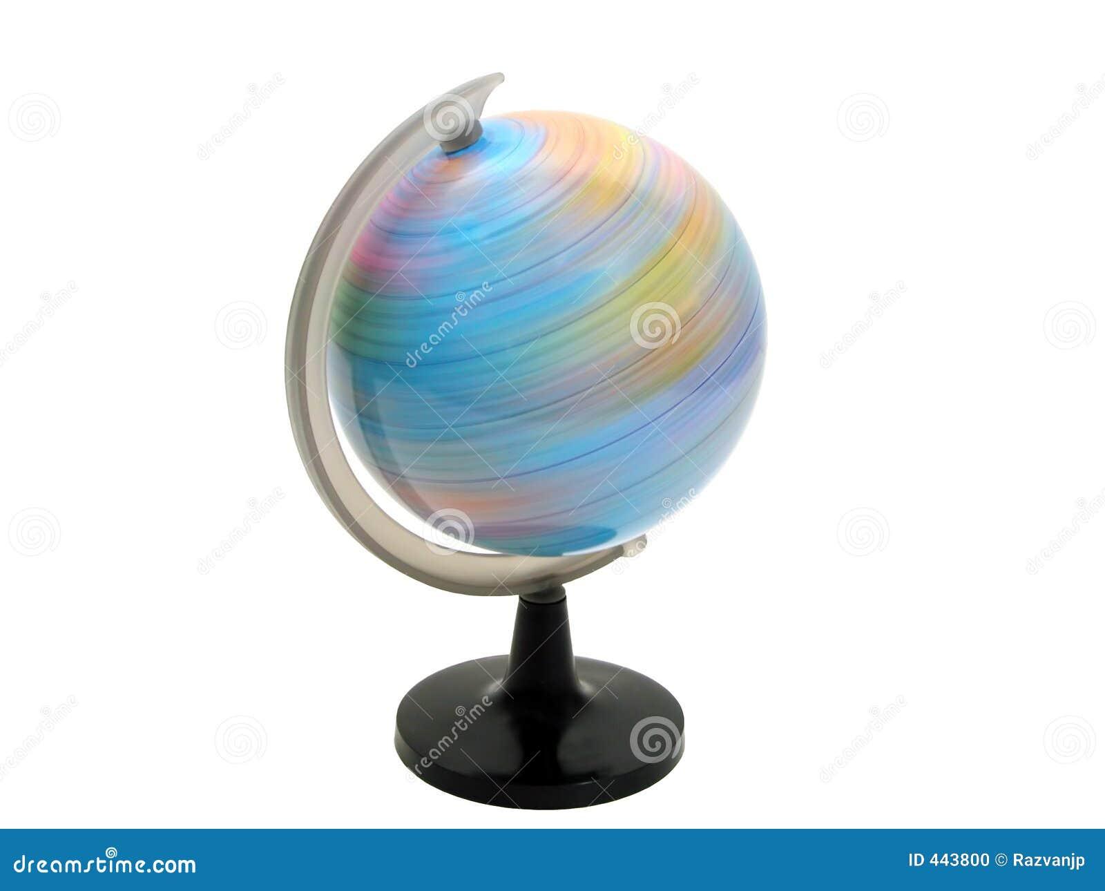 earth globe spinning stock photo image of turning globe 443800