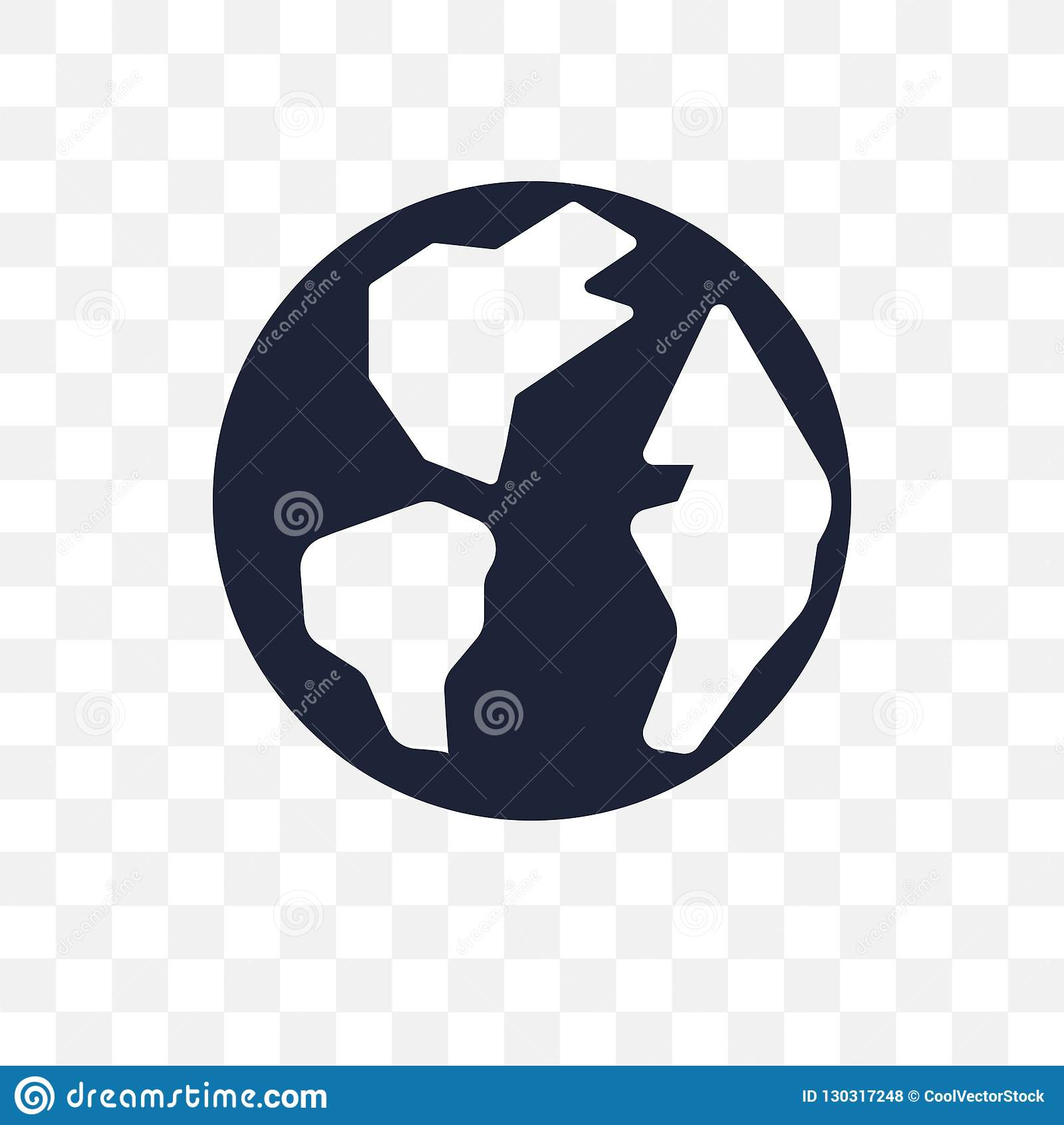Earth Globe Transparent Icon  Earth Globe Symbol Design From