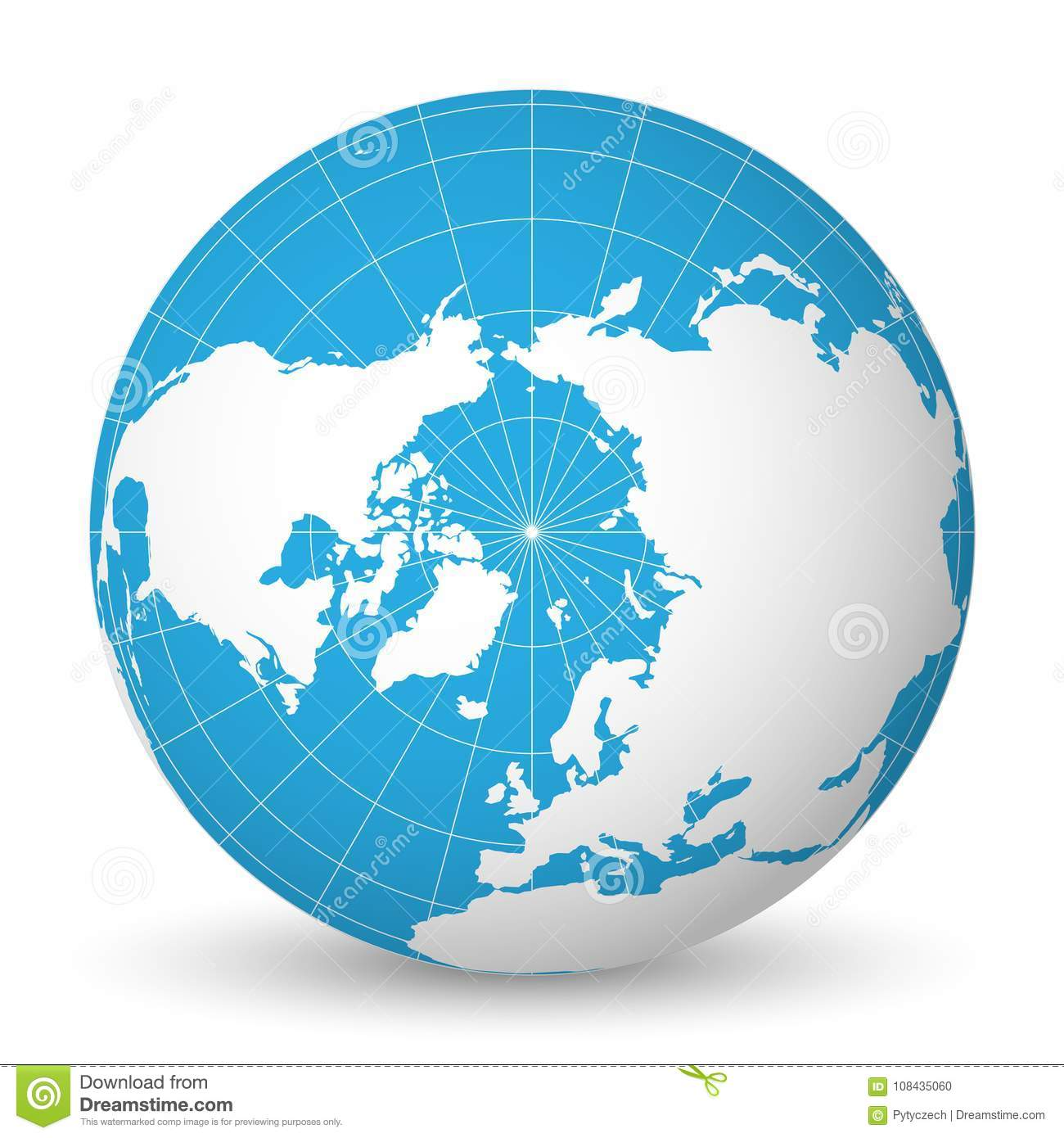 Earth globe with white world map and blue seas and oceans focused on download comp gumiabroncs Image collections
