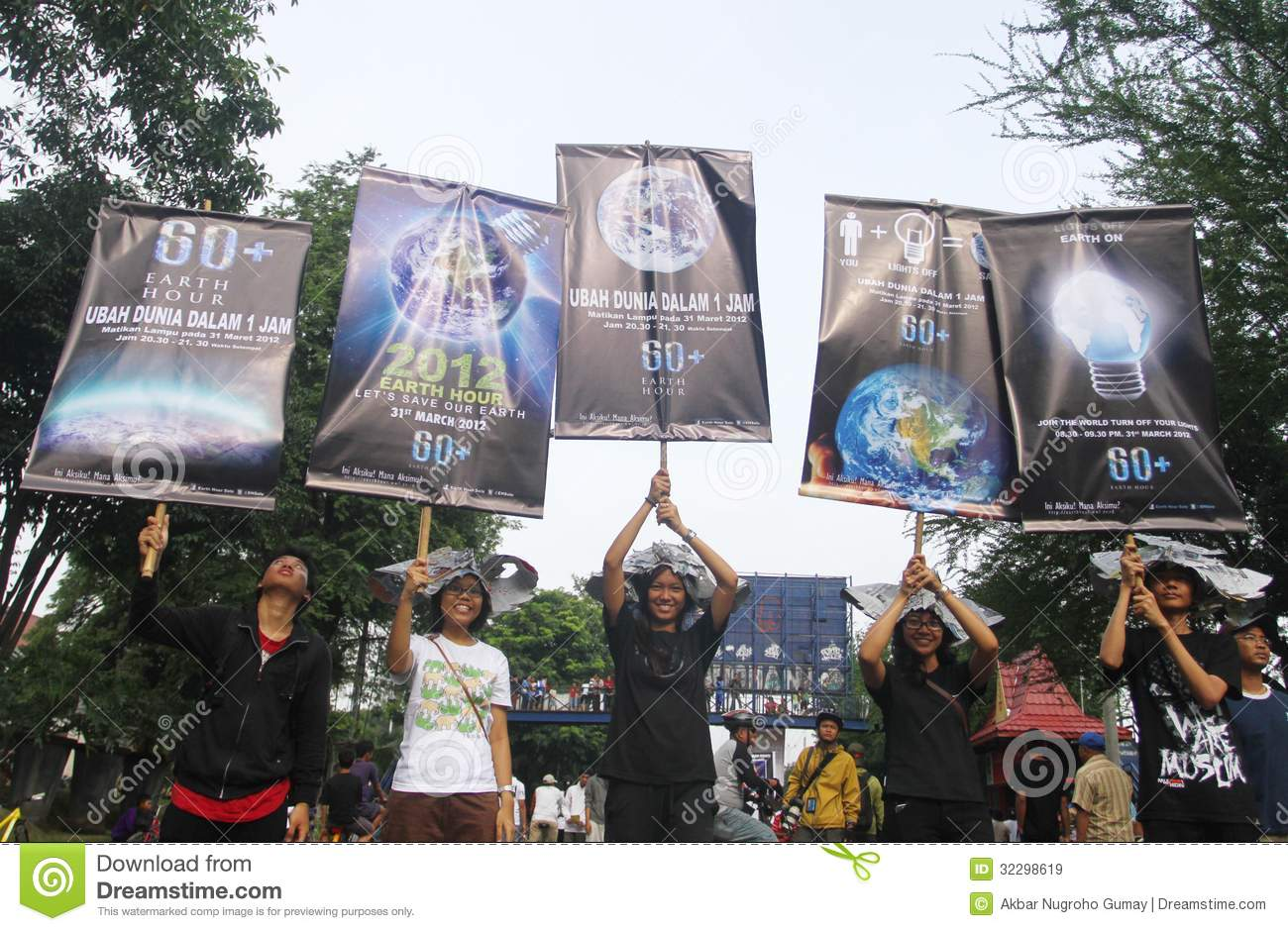Earth hour campaign
