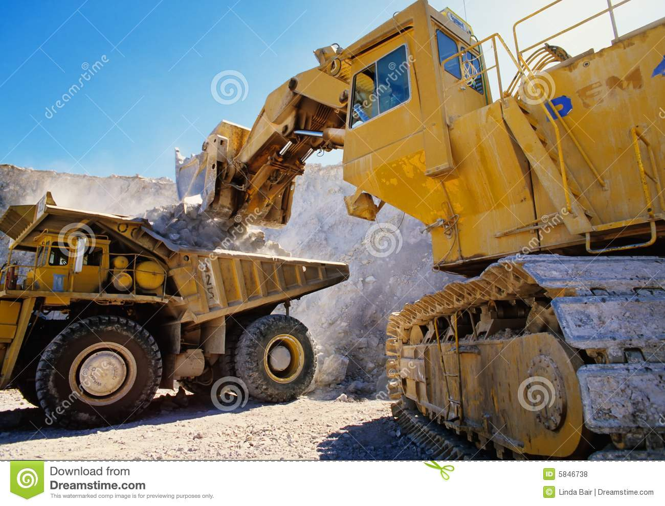 Earth Moving Heavy Equipment Stock Photo Image Of Excavate Large