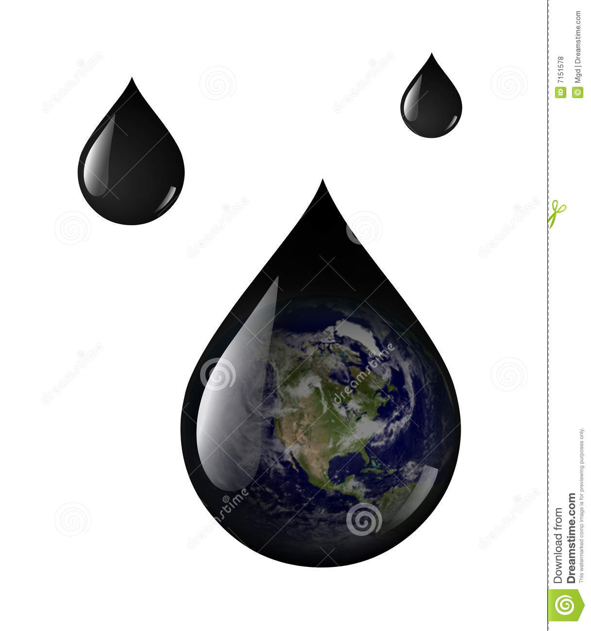 Earth Oil Drops Royalty Free Stock Photos - Image: 7151578  Earth Oil Drops...