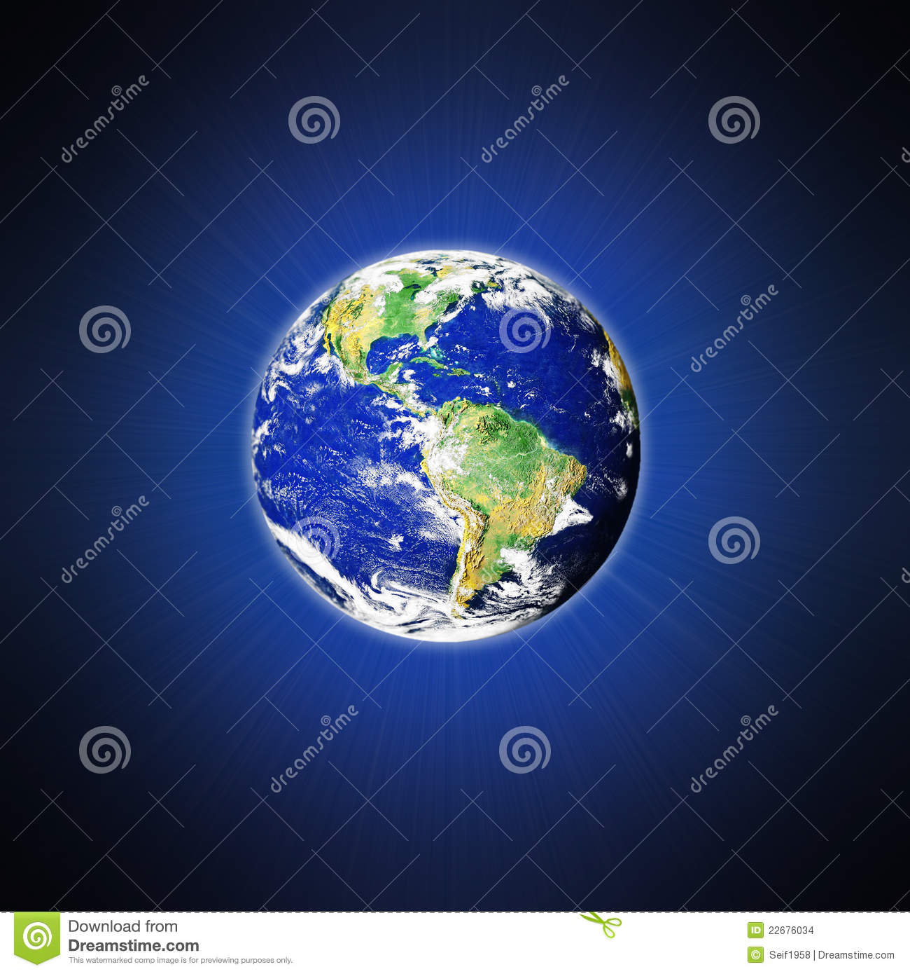 Earth and outer space stock images image 22676034 for 3d map of outer space