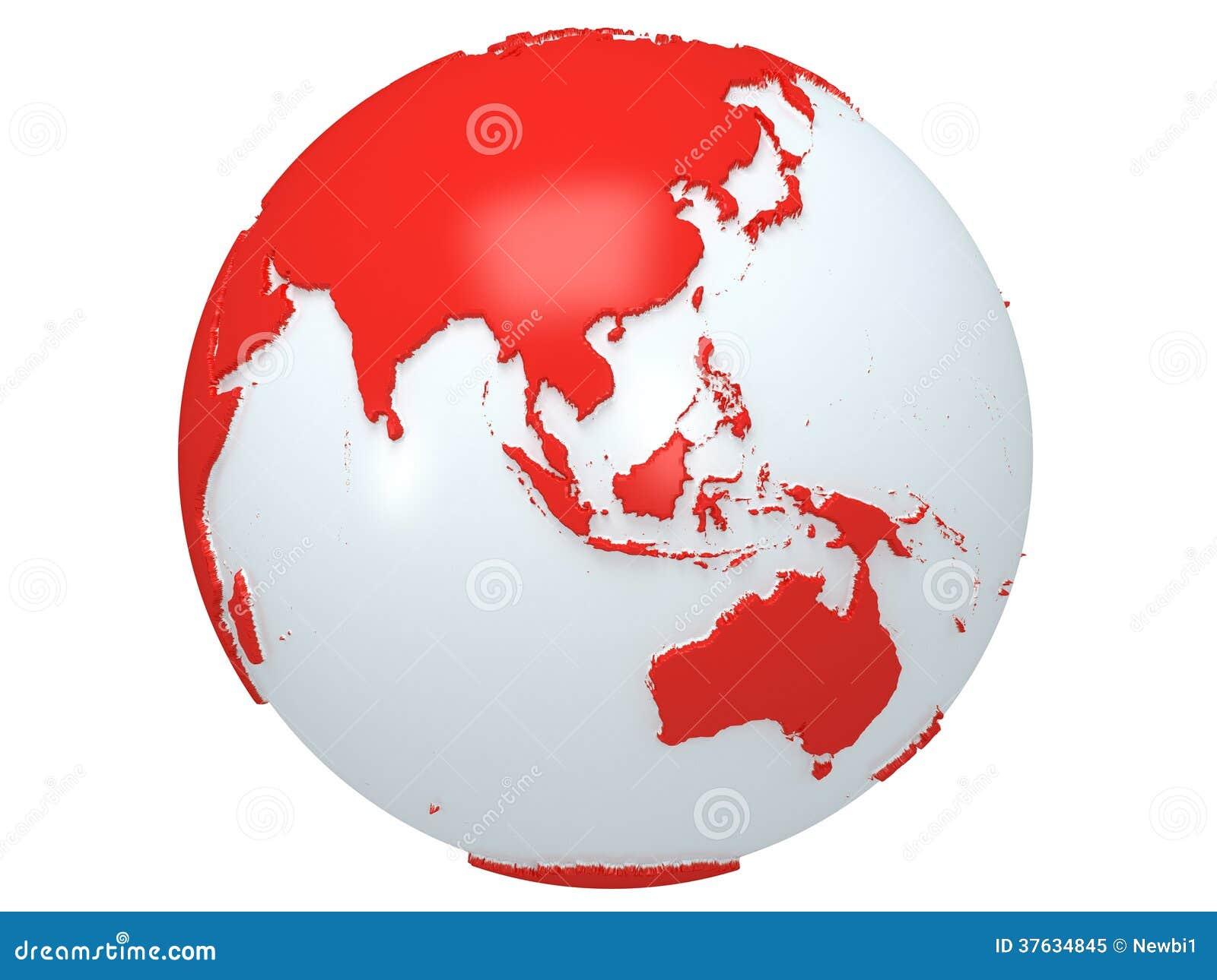 world map equator africa